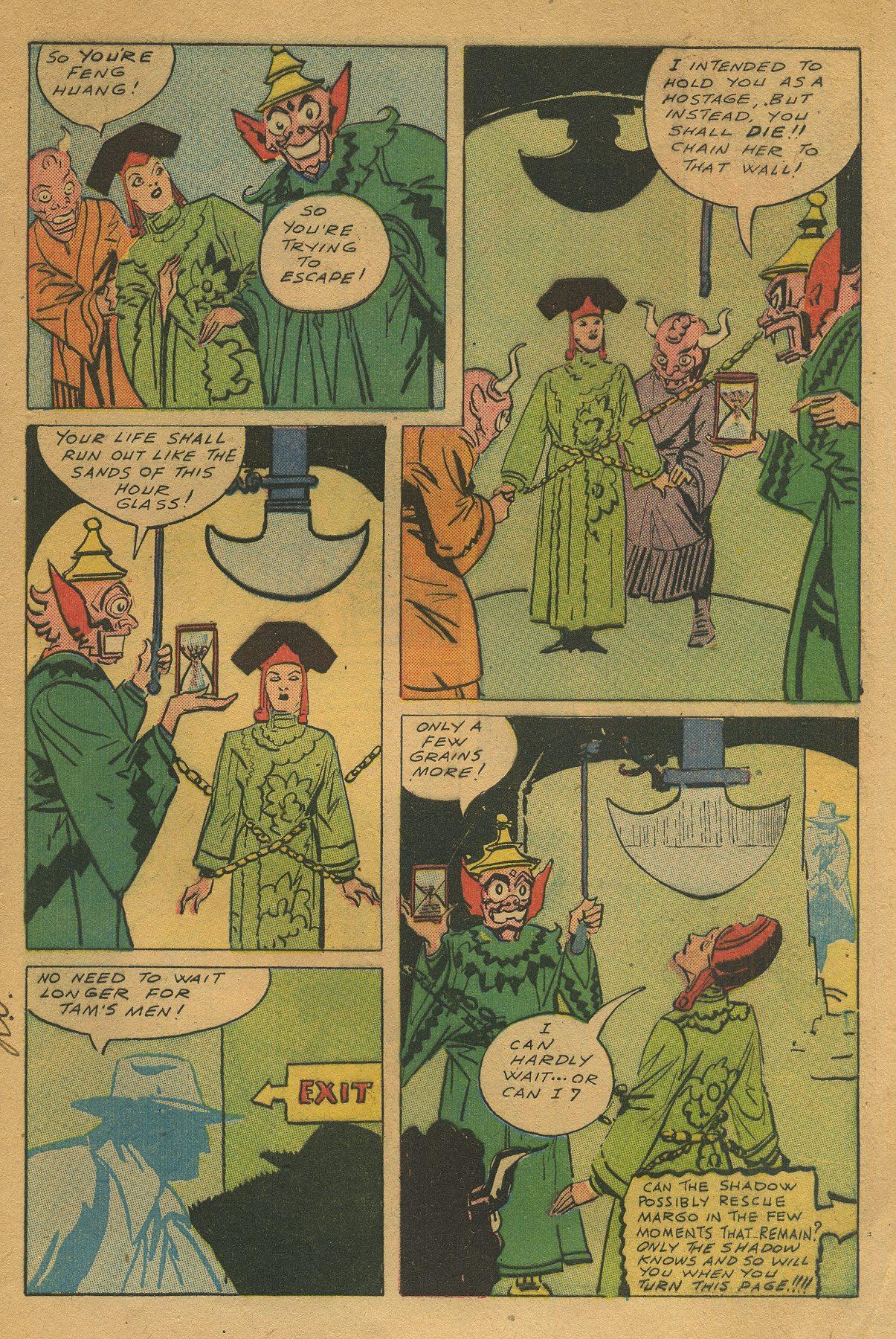 Read online Shadow Comics comic -  Issue #49 - 11