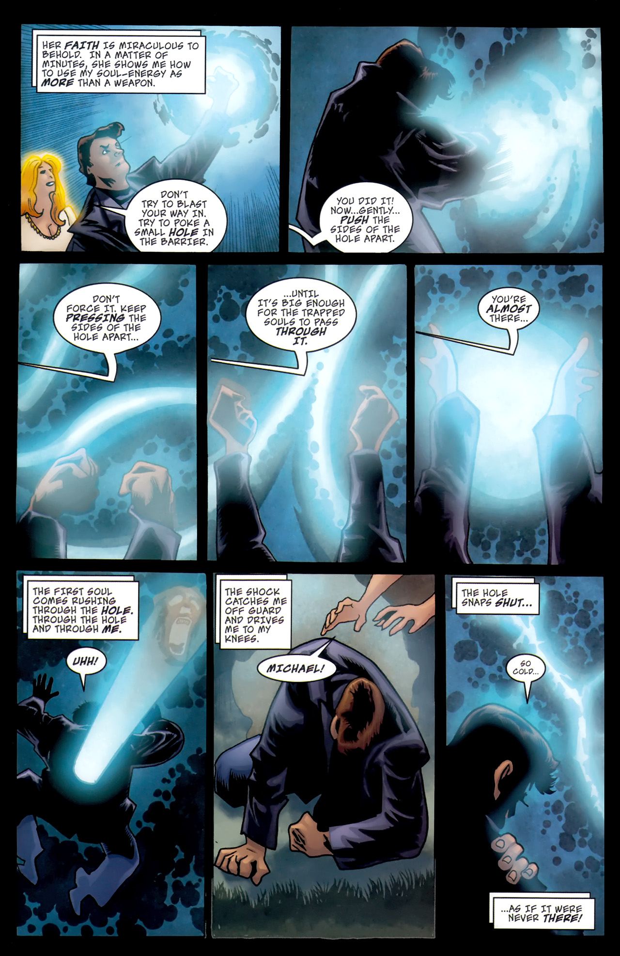Read online The Grim Ghost comic -  Issue #5 - 10
