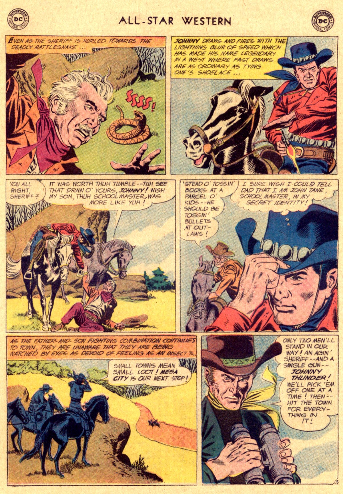 Read online All-Star Western (1951) comic -  Issue #112 - 5