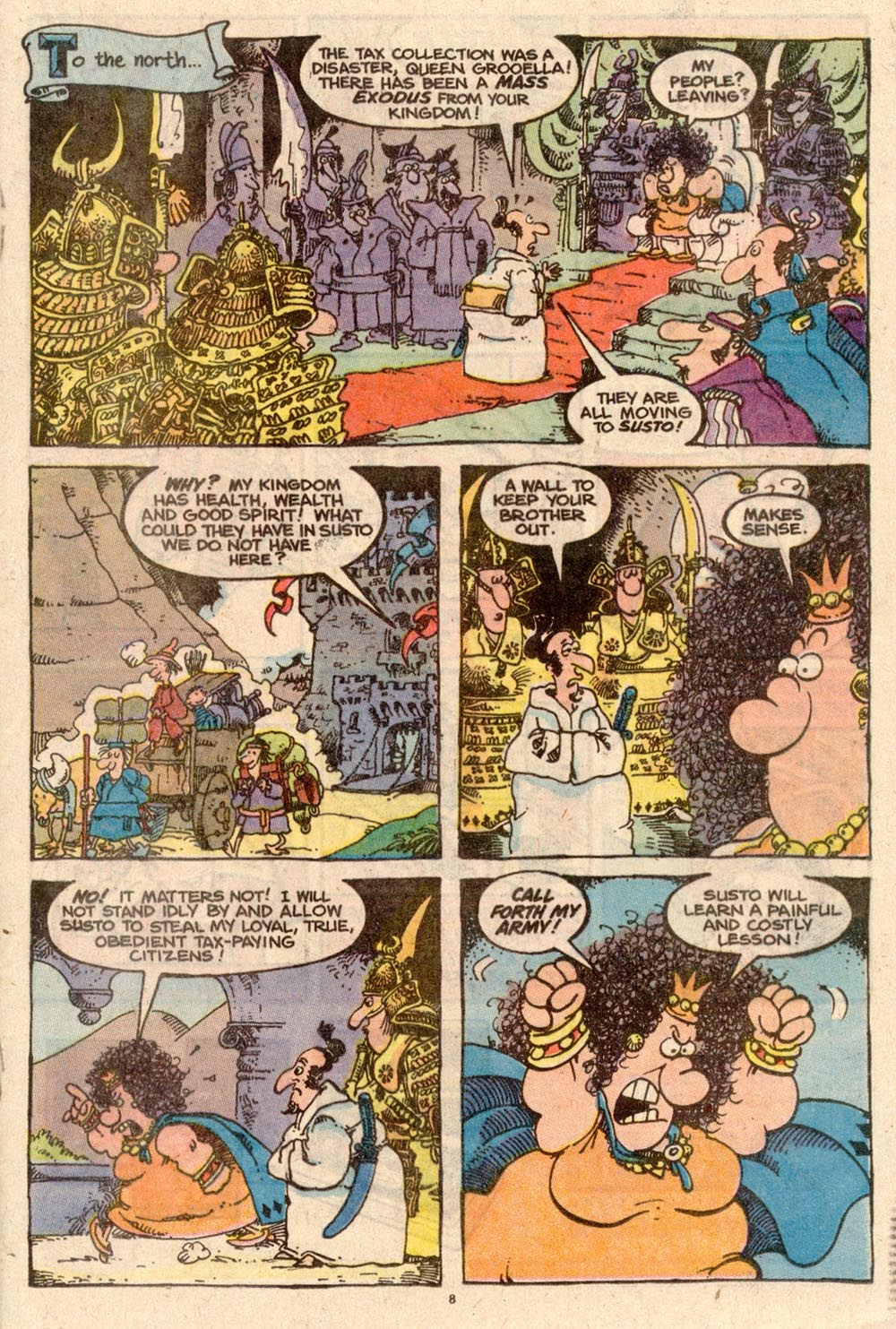 Read online Sergio Aragonés Groo the Wanderer comic -  Issue #59 - 8