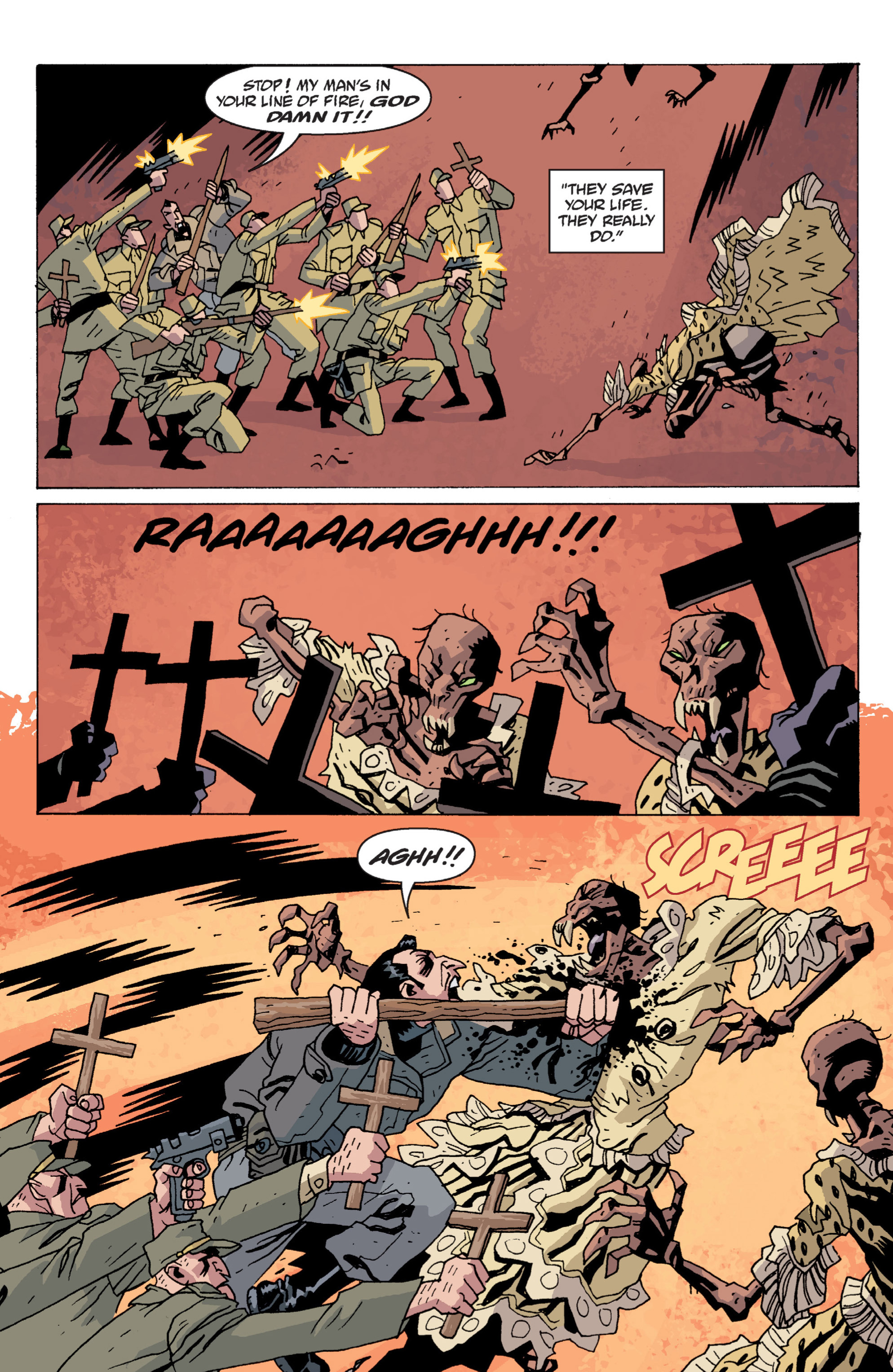 Read online B.P.R.D. (2003) comic -  Issue # TPB 13 - 105
