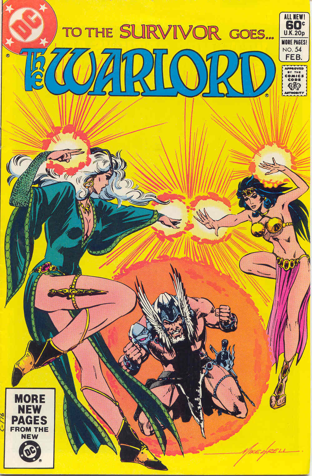 Warlord (1976) issue 54 - Page 1