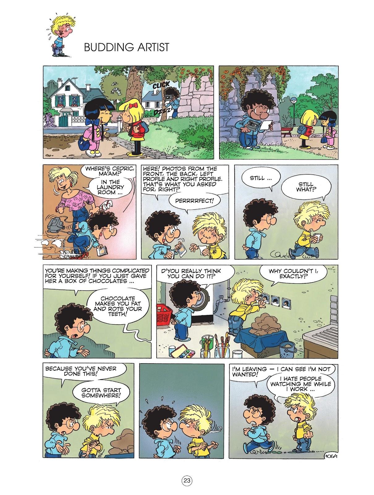 Read online Cedric comic -  Issue #6 - 25