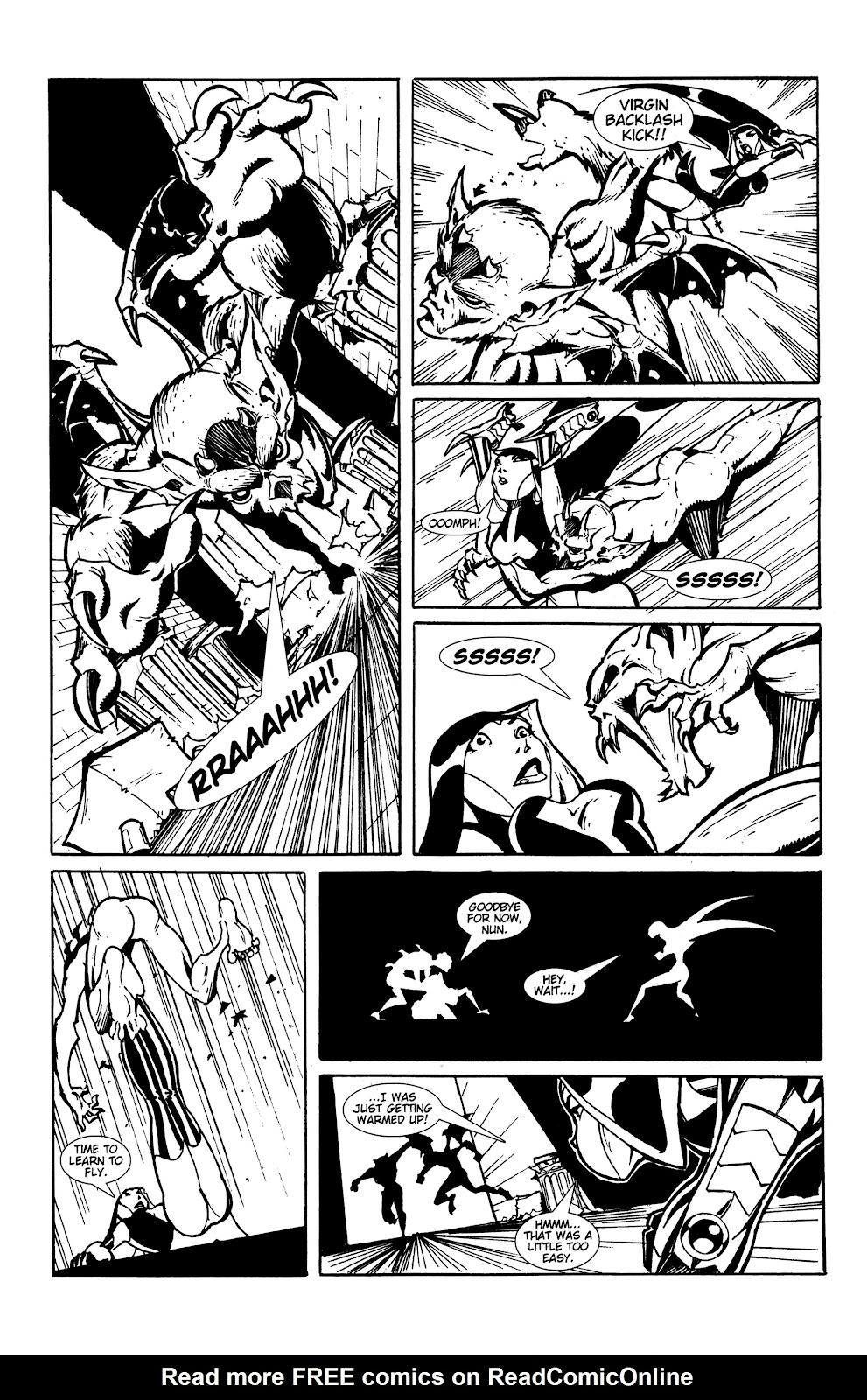 Warrior Nun Areala:  Dangerous Game Issue #1 #1 - English 14