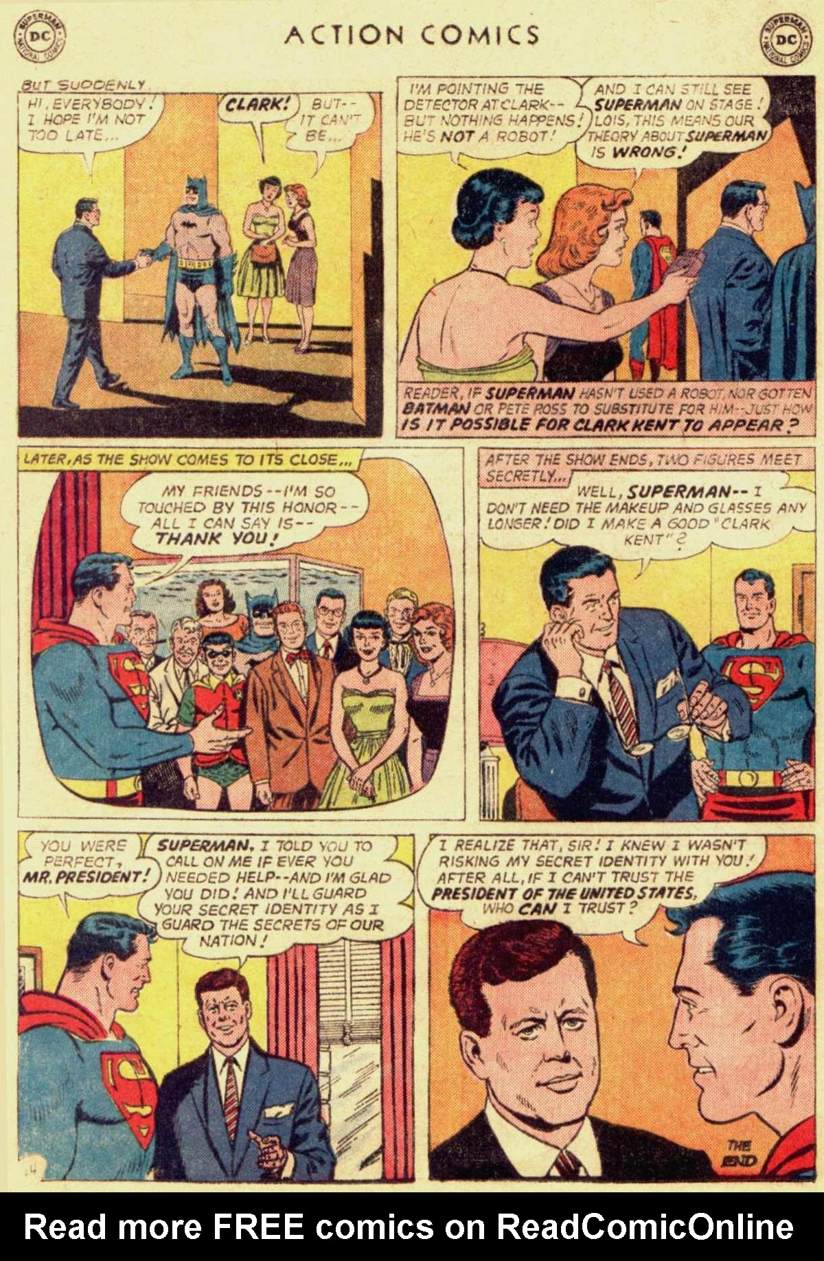 Read online Action Comics (1938) comic -  Issue #309 - 16