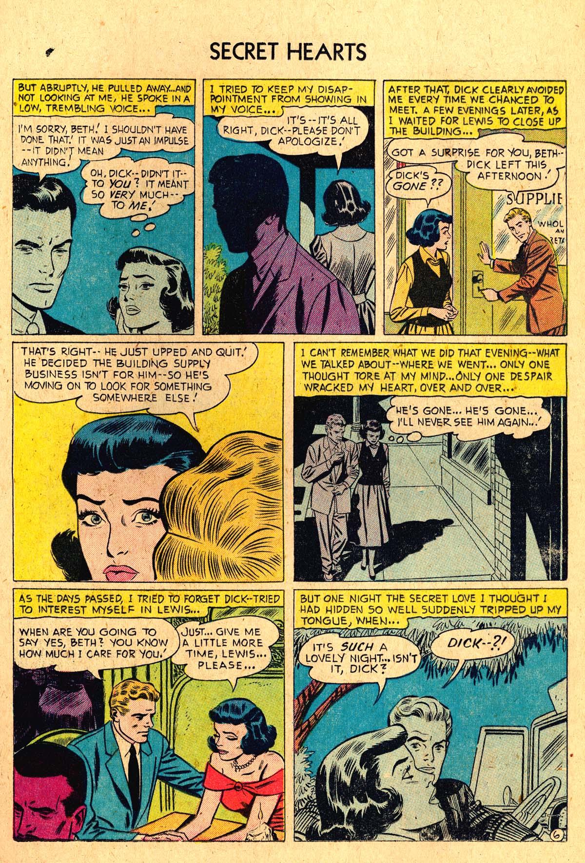 Read online Secret Hearts comic -  Issue #36 - 17