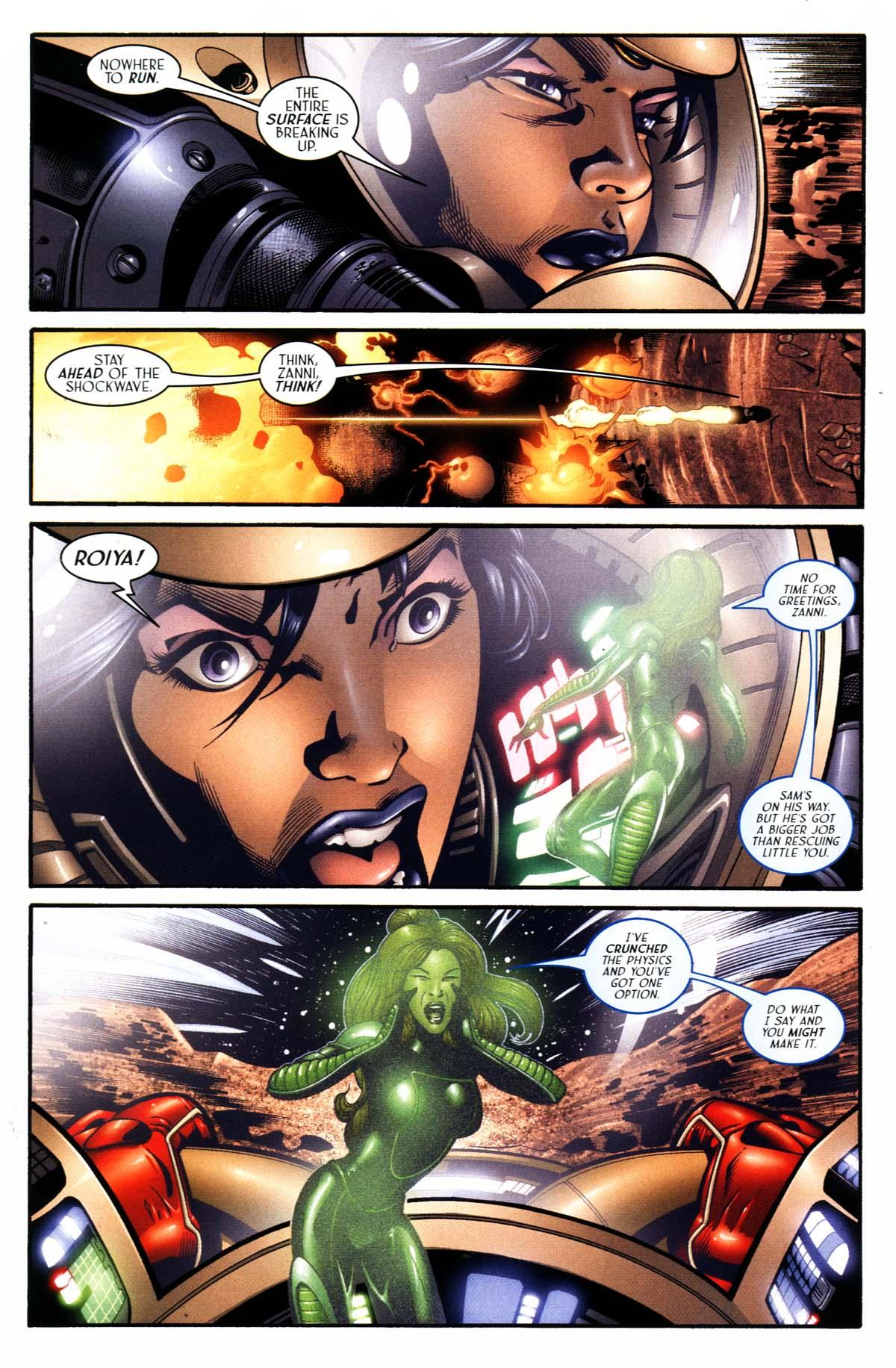 Read online Sigil (2000) comic -  Issue #23 - 24