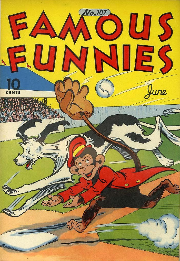 Read online Famous Funnies comic -  Issue #107 - 1
