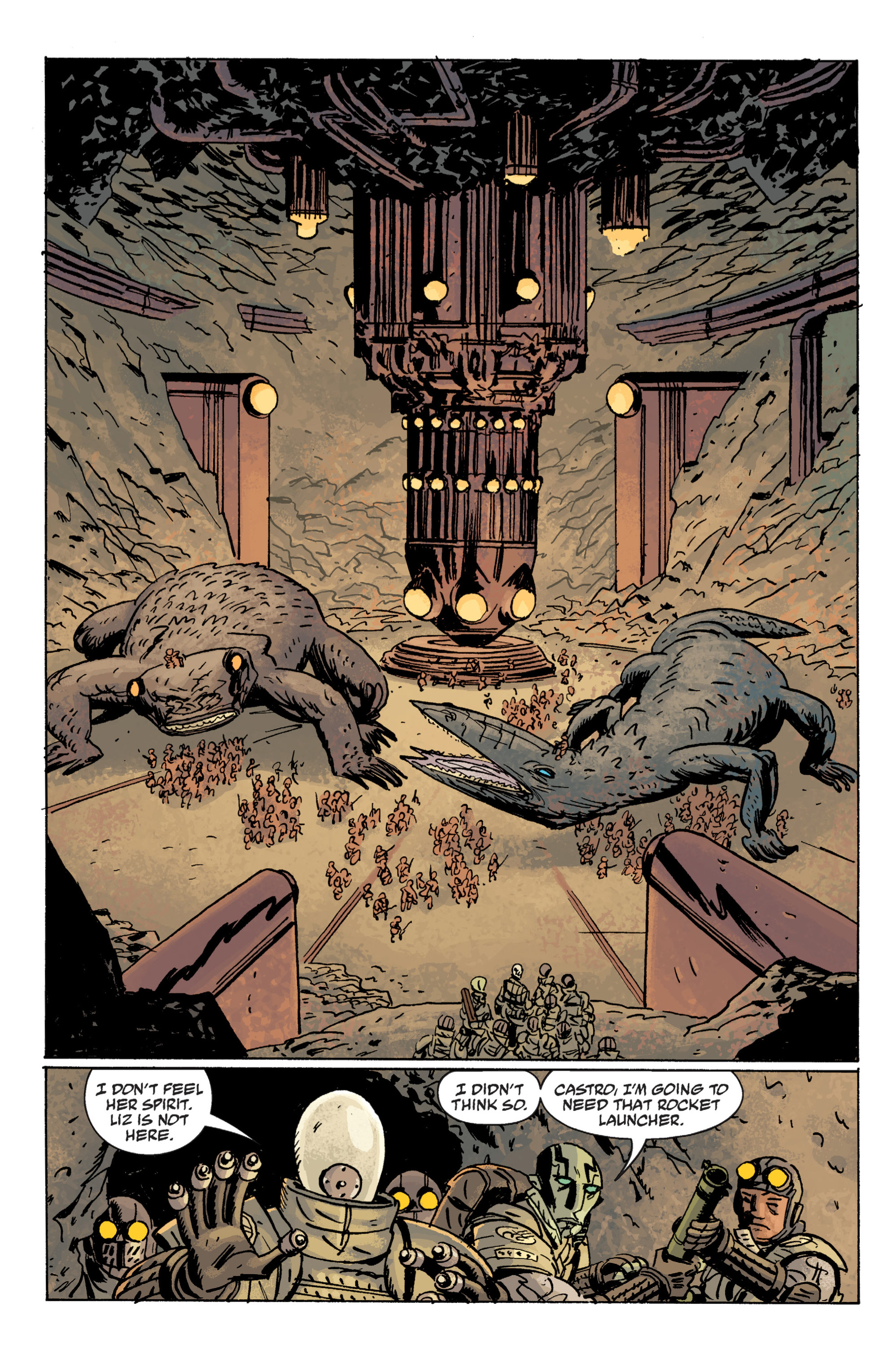 Read online B.P.R.D. (2003) comic -  Issue # TPB 10 - 107
