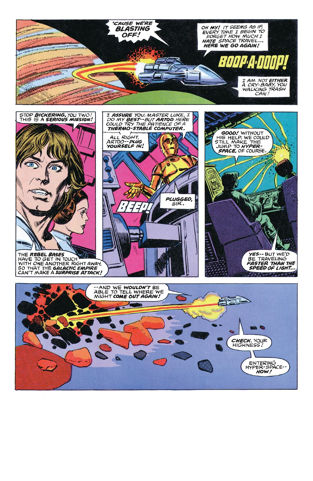 Read online Star Wars Legends: The Original Marvel Years - Epic Collection comic -  Issue # TPB 1 (Part 5) - 23