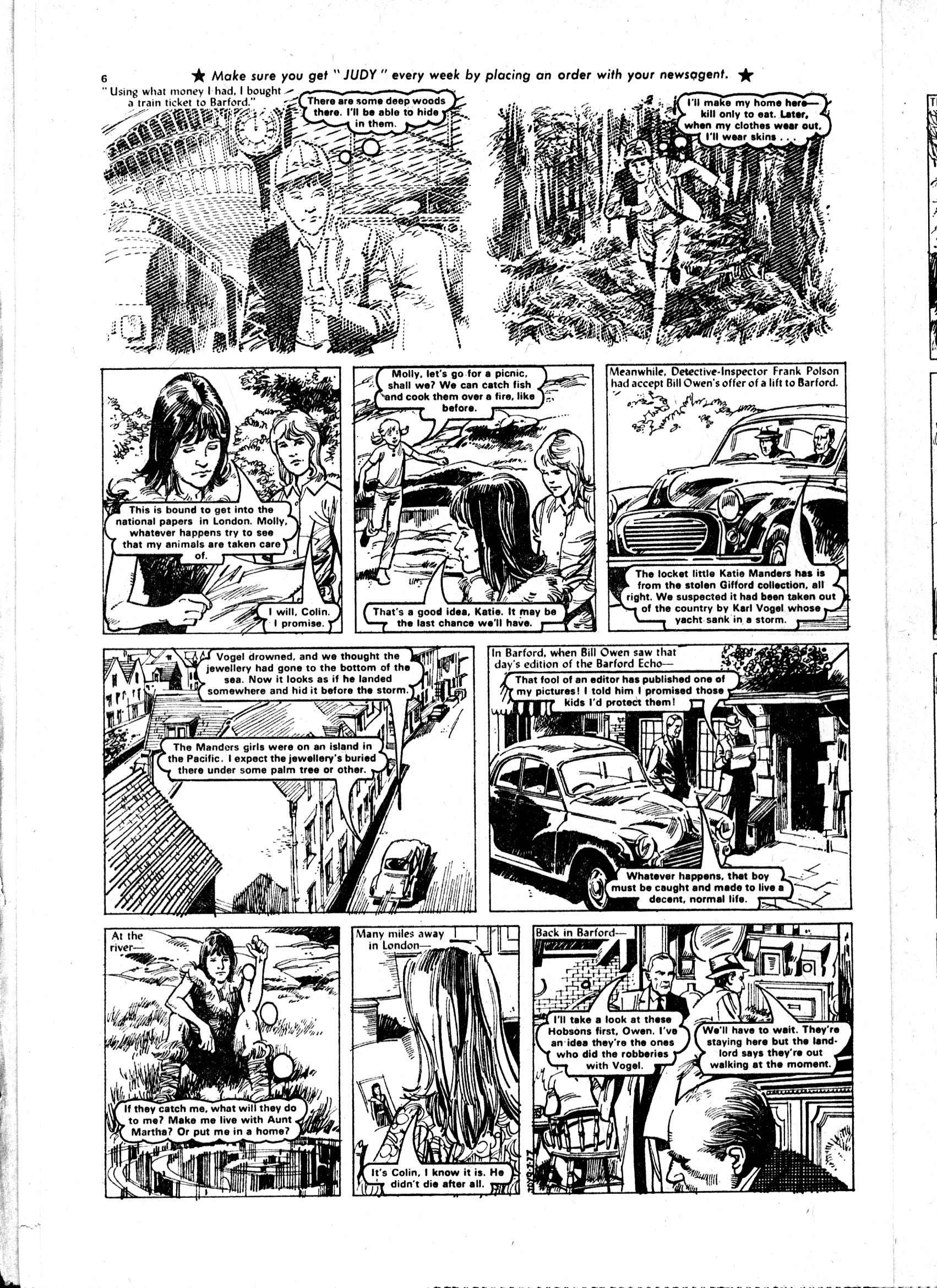 Read online Judy comic -  Issue #913 - 6