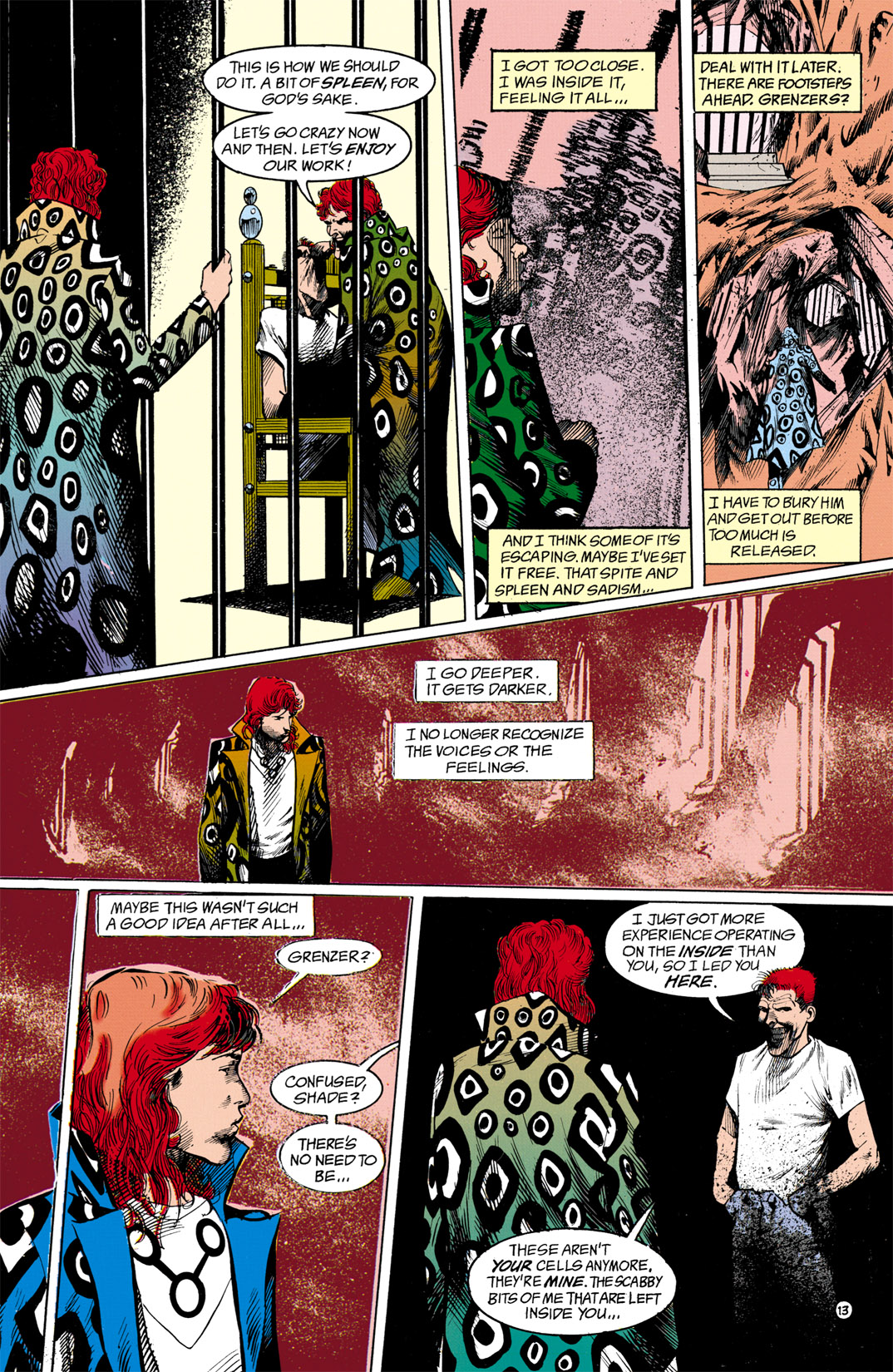 Read online Shade, the Changing Man comic -  Issue #13 - 14