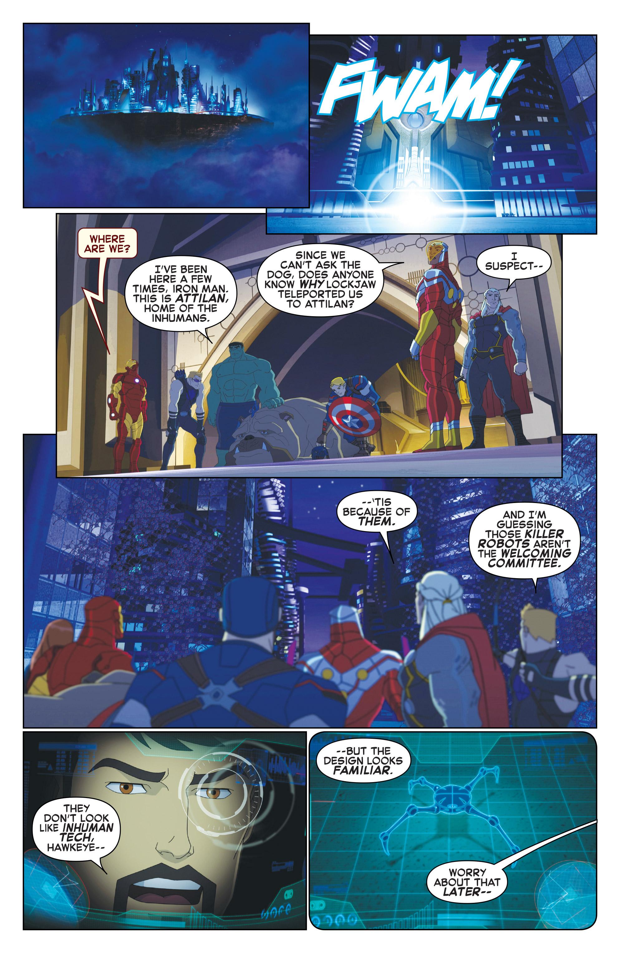 Read online Marvel Universe Avengers: Ultron Revolution comic -  Issue #10 - 3