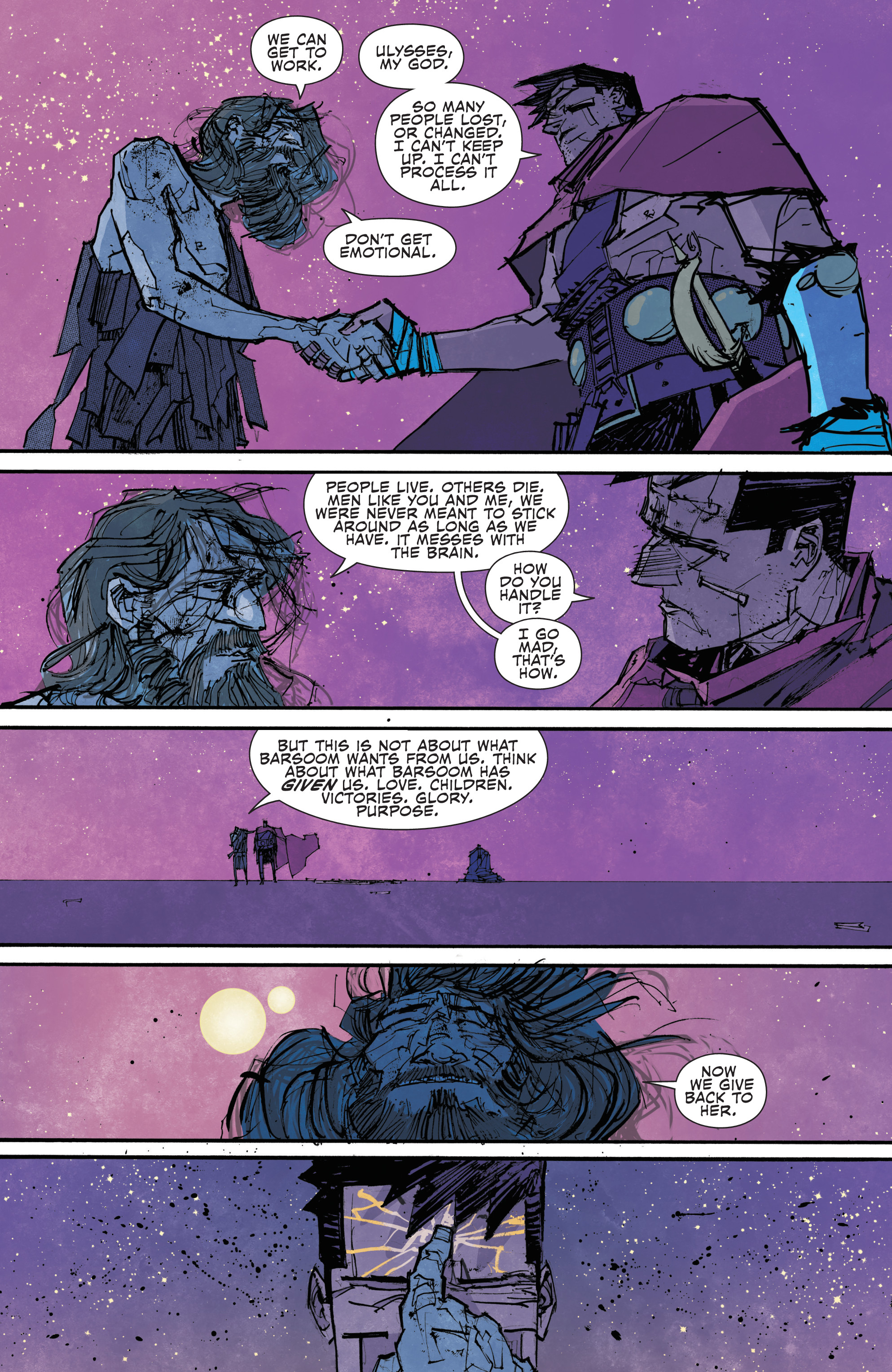 Read online John Carter: The End comic -  Issue #4 - 17