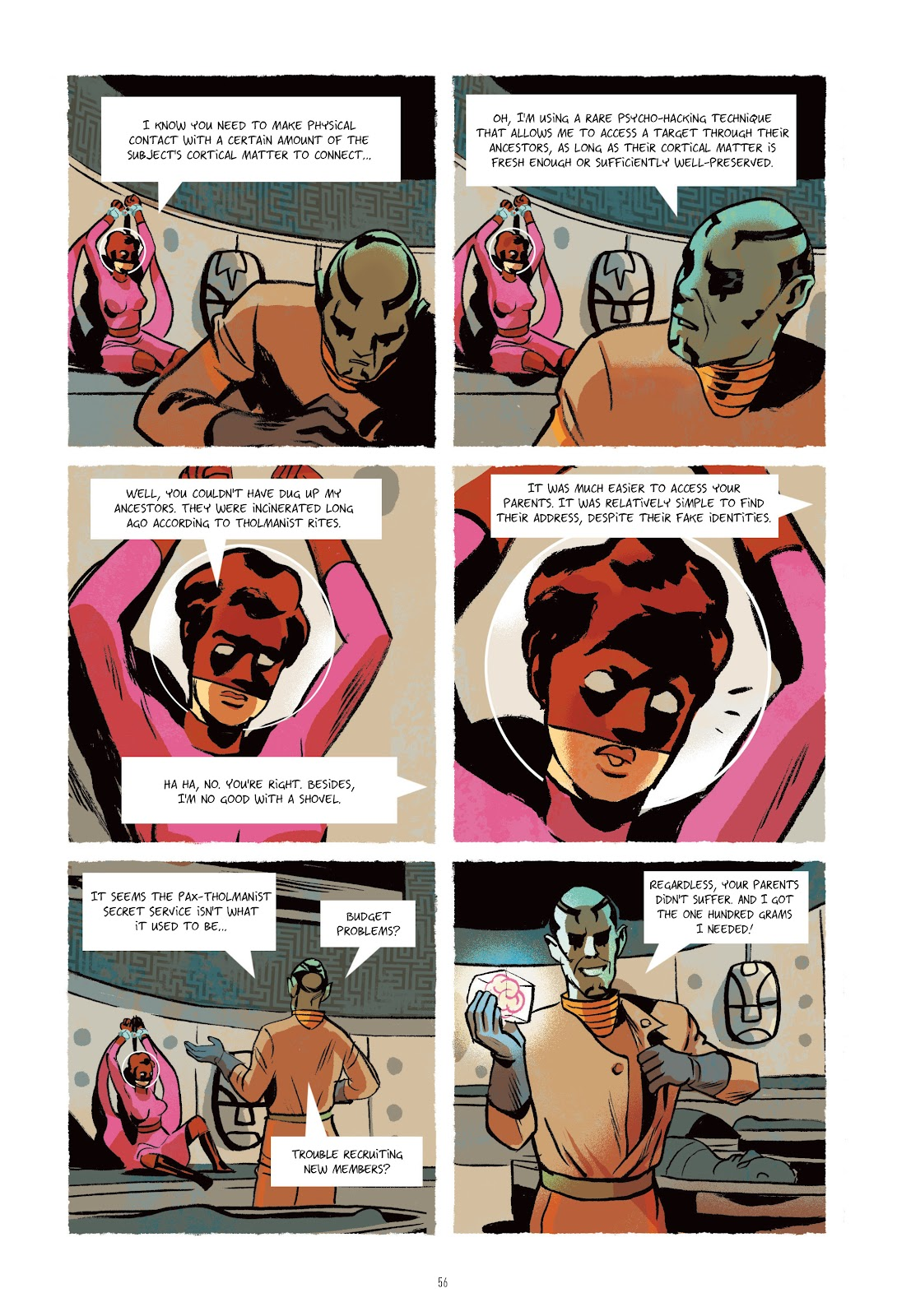 Read online Infinity 8 comic -  Issue # _TPB 3 - 56