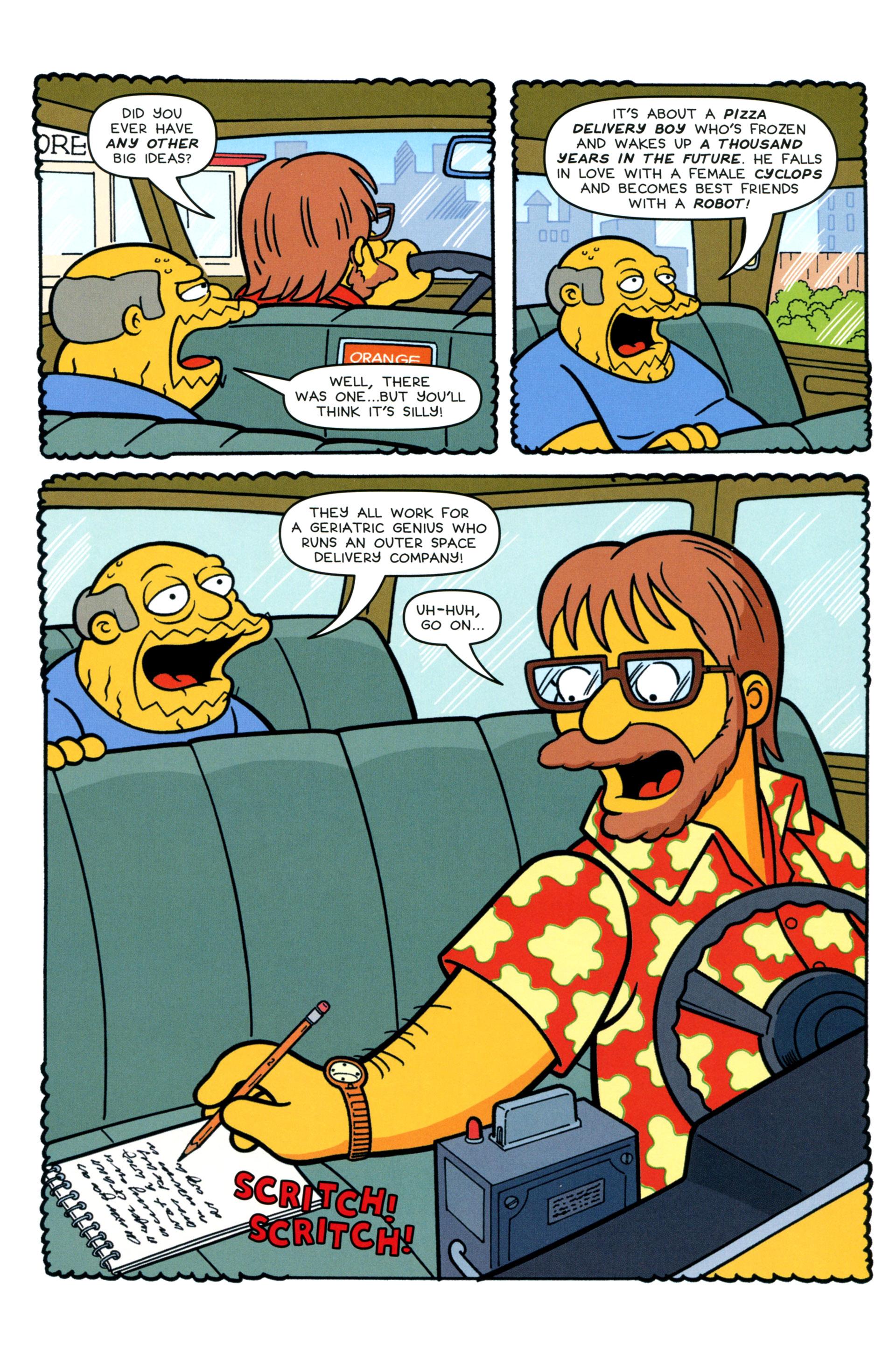 Read online Simpsons Comics comic -  Issue #200 - 27