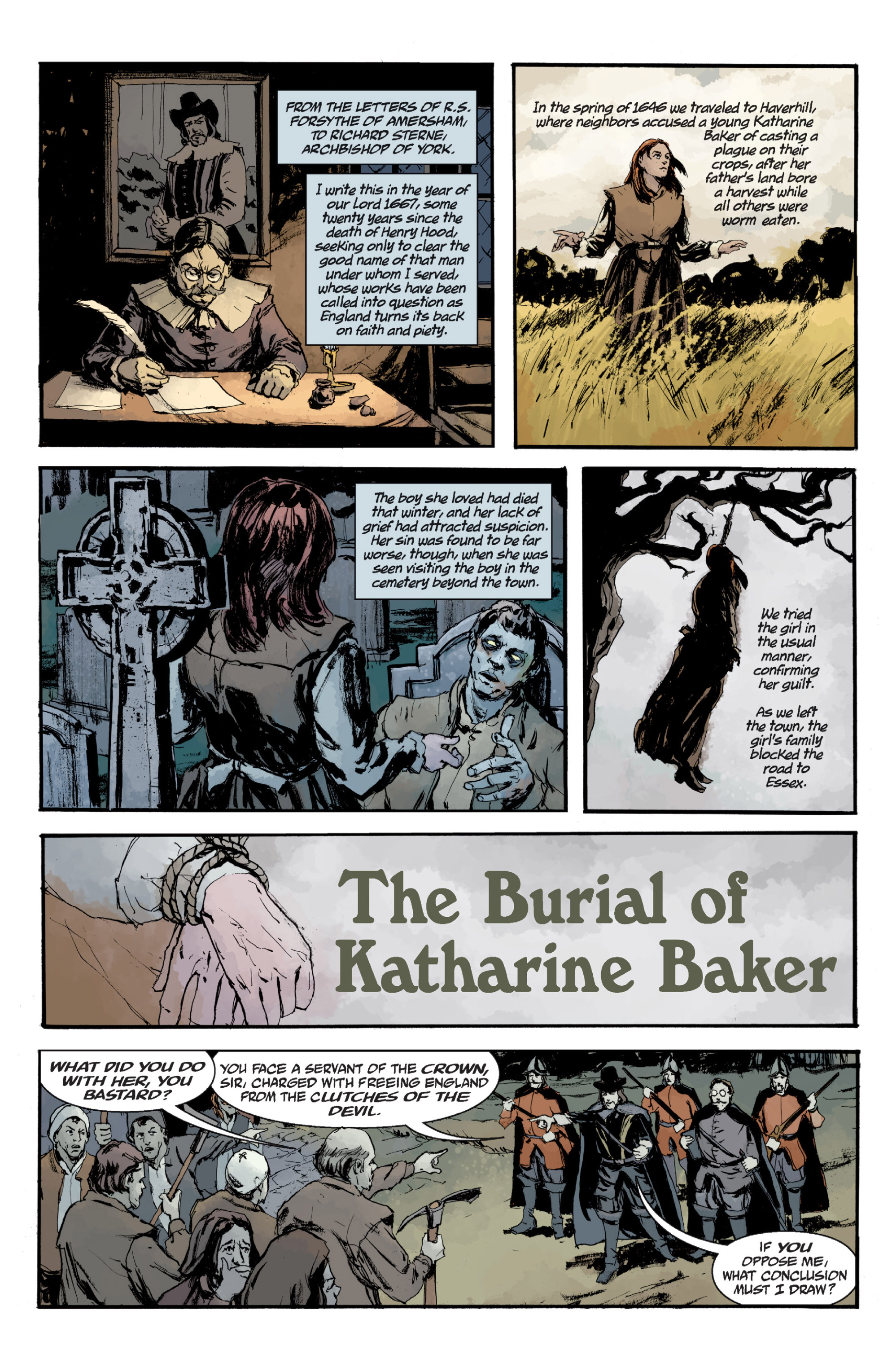 Read online Sir Edward Grey, Witchfinder: In the Service of Angels comic -  Issue # TPB - 136