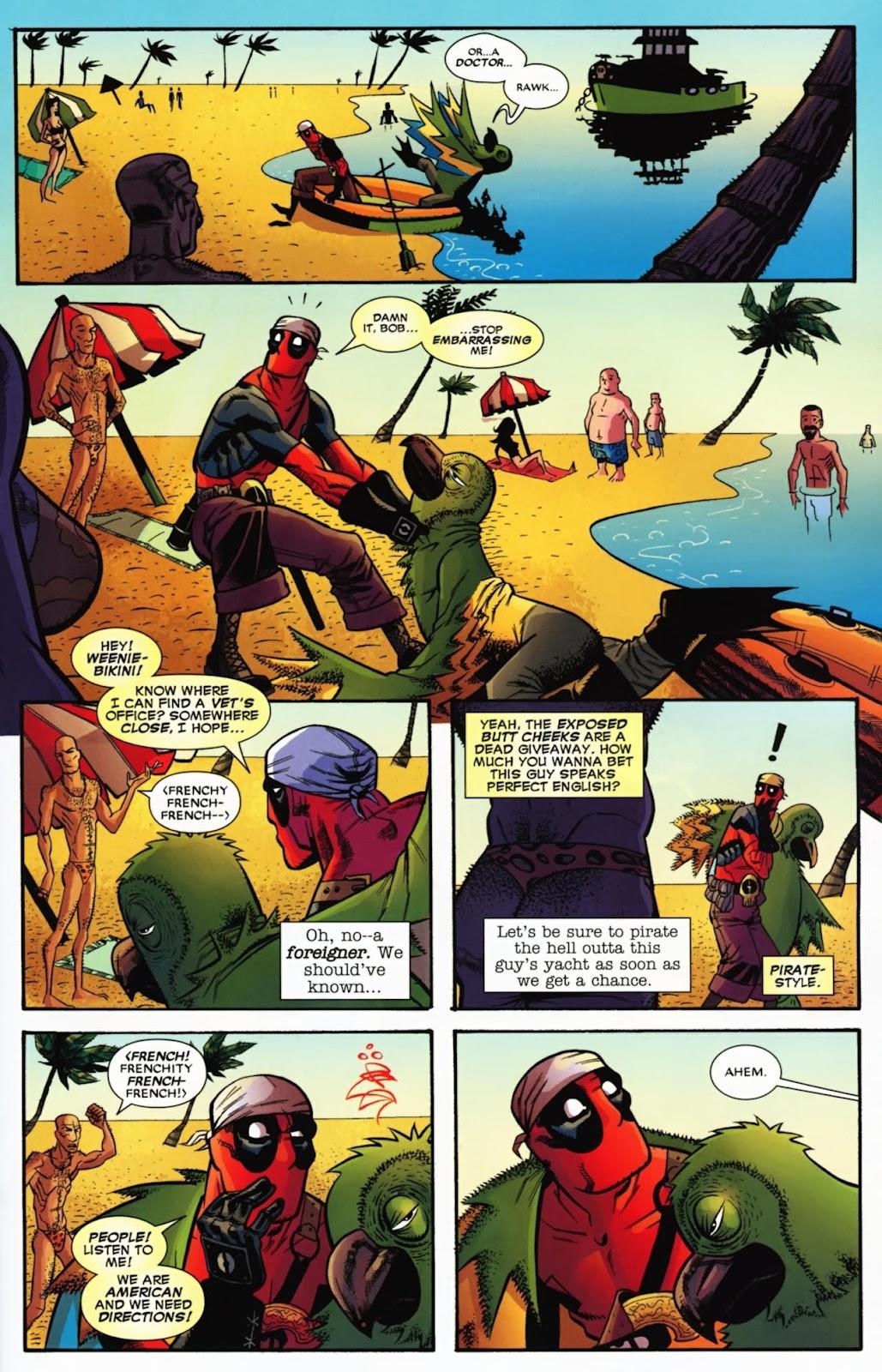 Read online Deadpool (2008) comic -  Issue #13 - 18