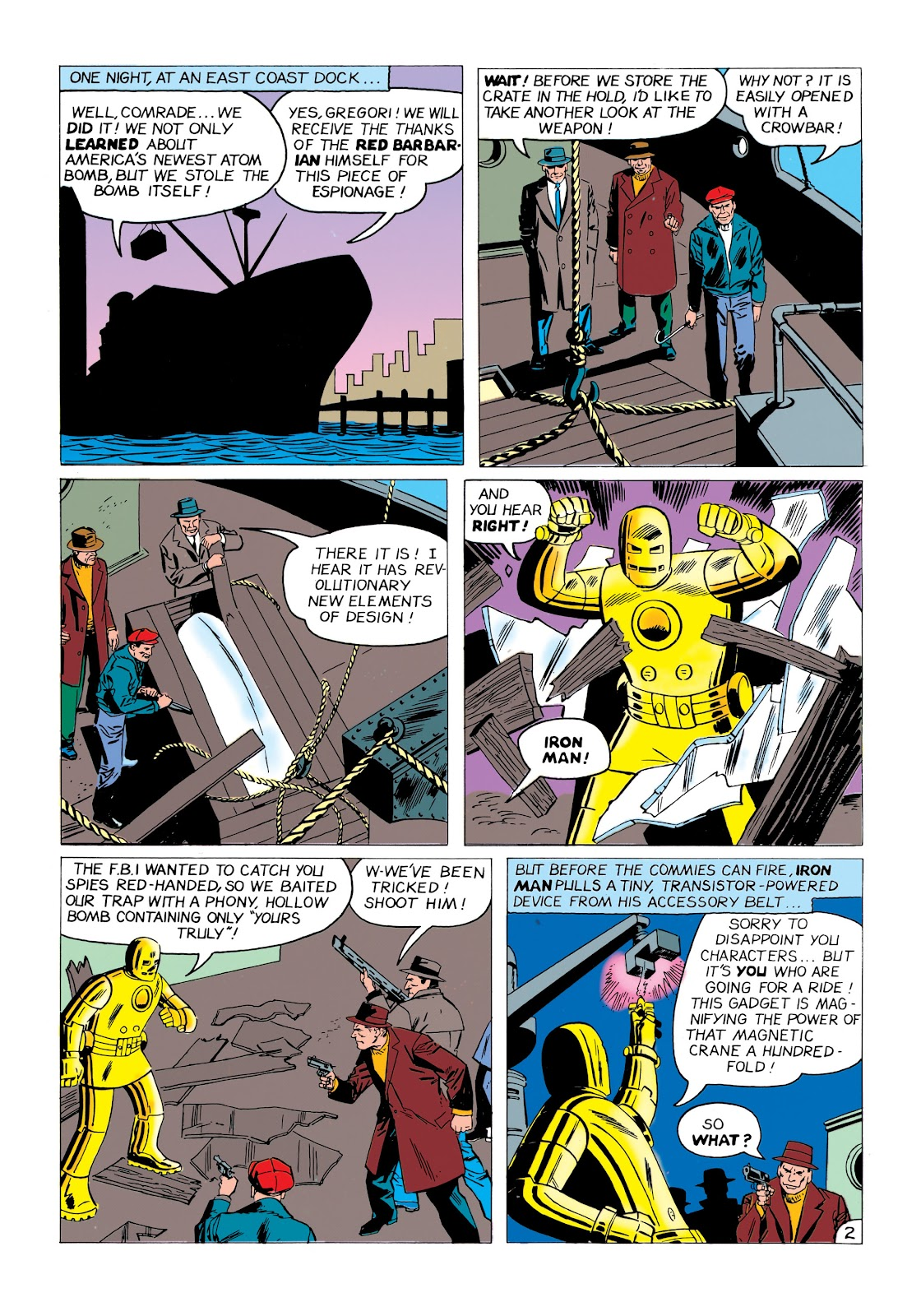 Read online Marvel Masterworks: The Invincible Iron Man comic -  Issue # TPB 1 (Part 1) - 47