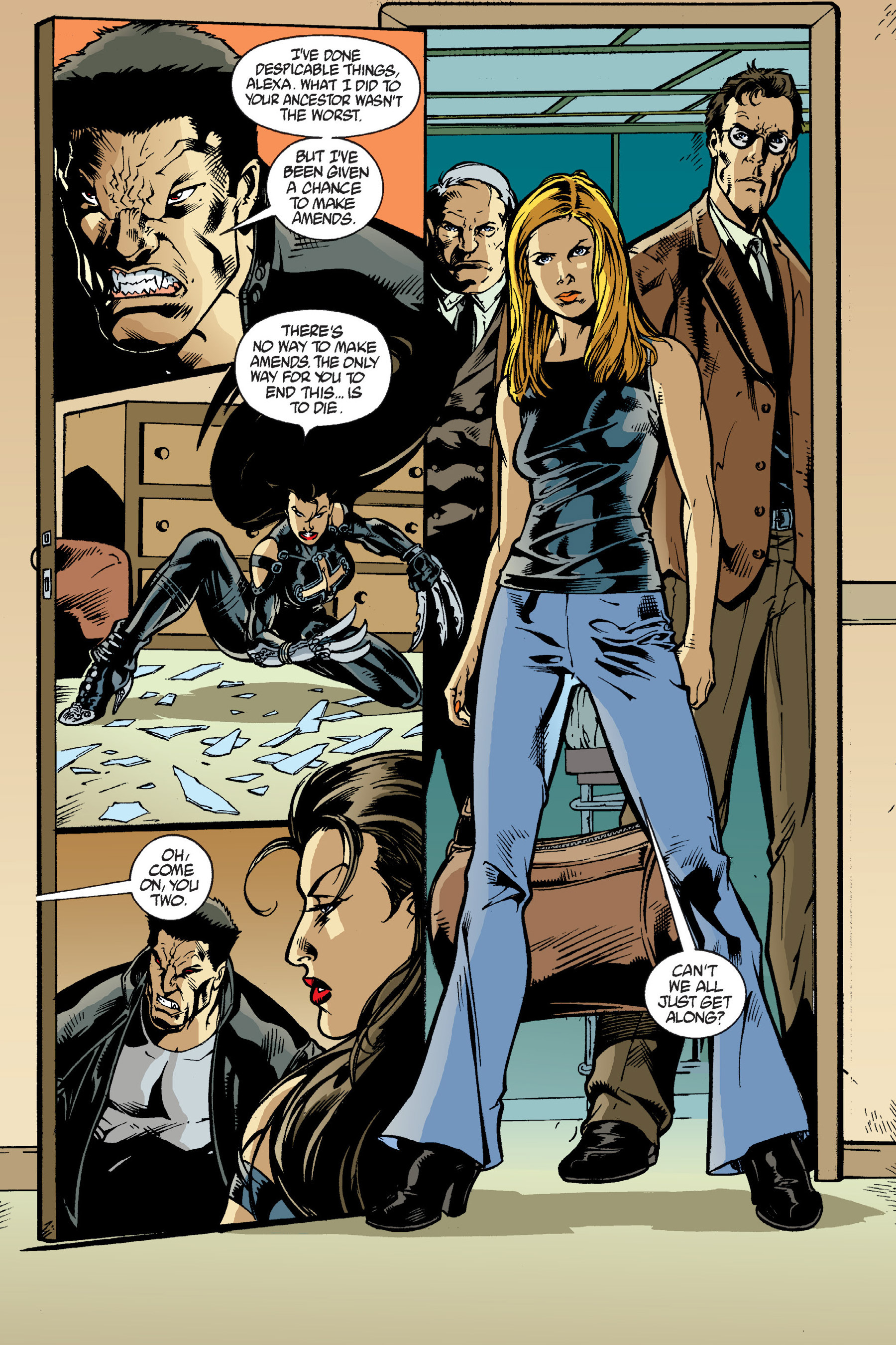 Read online Buffy the Vampire Slayer: Omnibus comic -  Issue # TPB 6 - 158