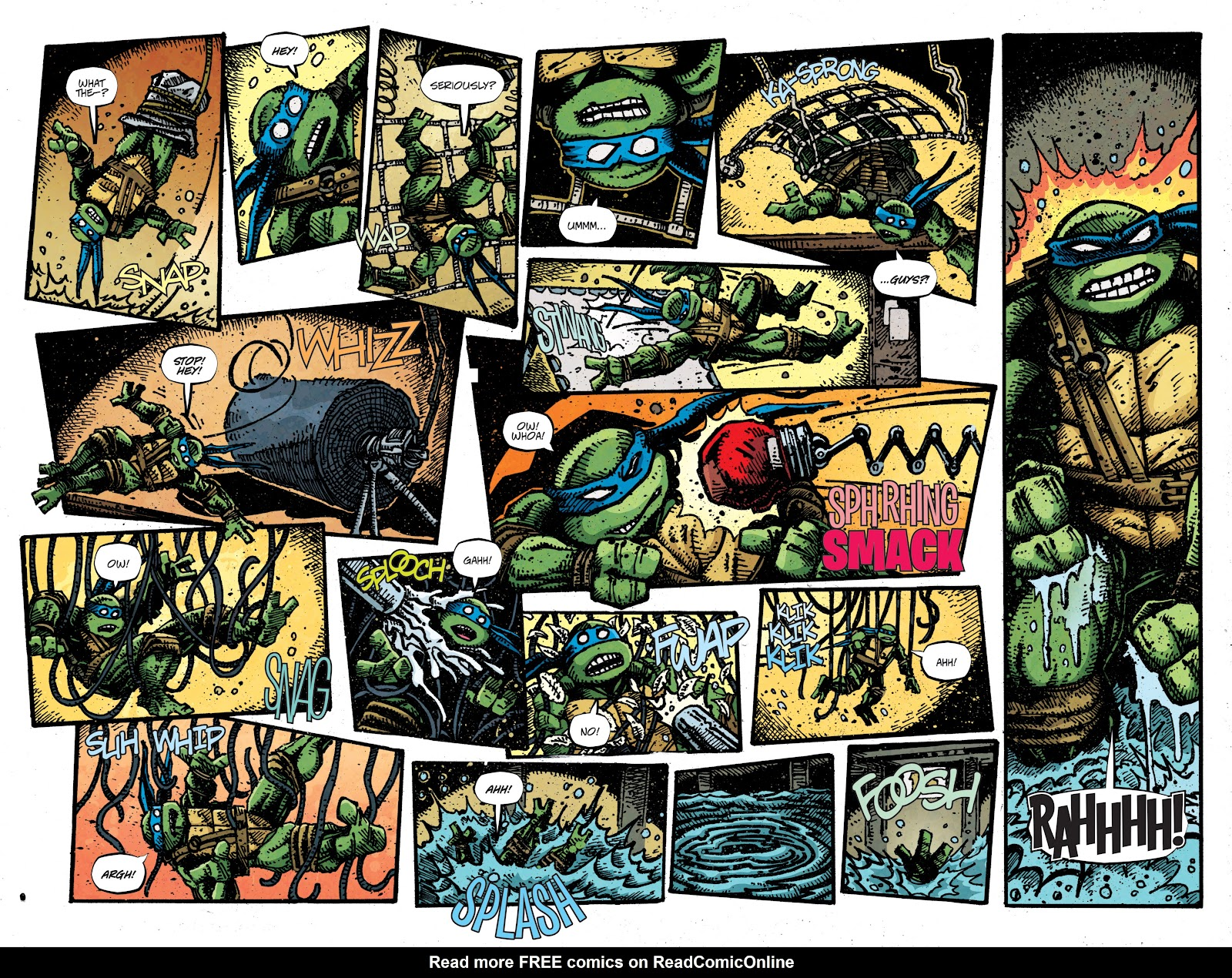 Read online Teenage Mutant Ninja Turtles: The IDW Collection comic -  Issue # TPB 4 (Part 3) - 8