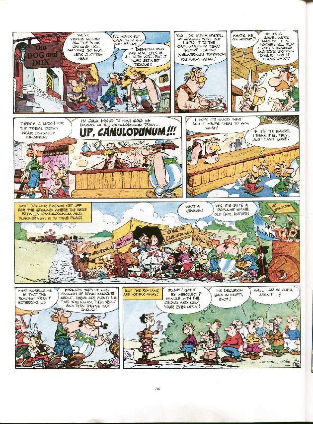 Read online Asterix comic -  Issue #8 - 33