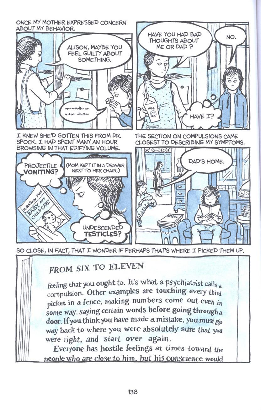 Read online Fun Home: A Family Tragicomic comic -  Issue # TPB - 144