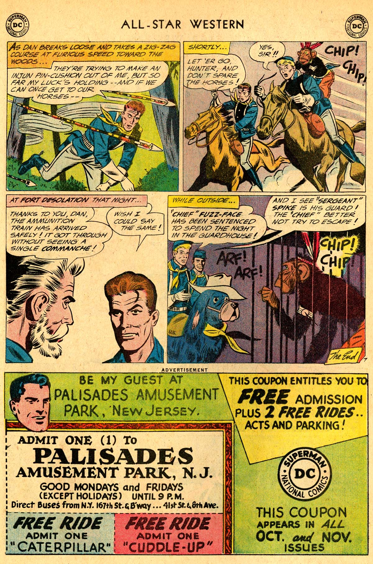 Read online All-Star Western (1951) comic -  Issue #115 - 22