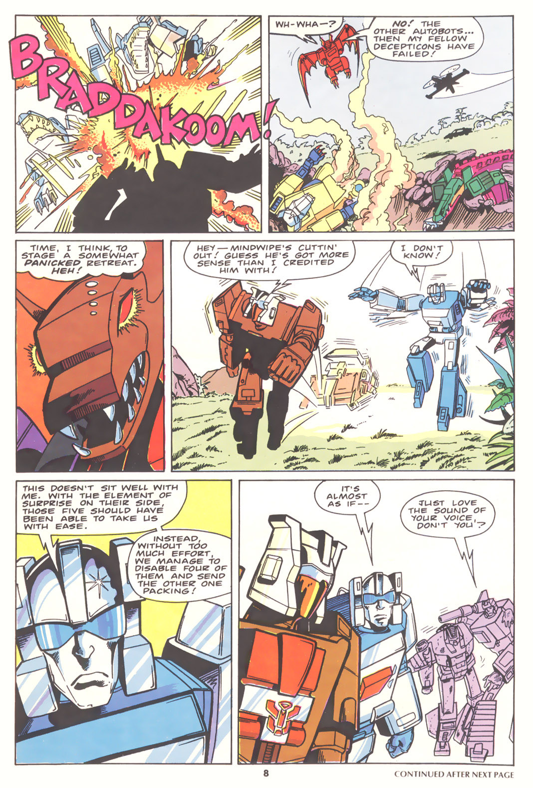 The Transformers (UK) 256 Page 2