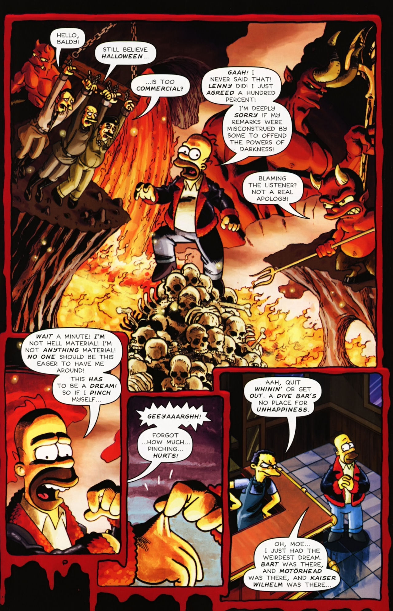 Read online Treehouse of Horror comic -  Issue #16 - 48