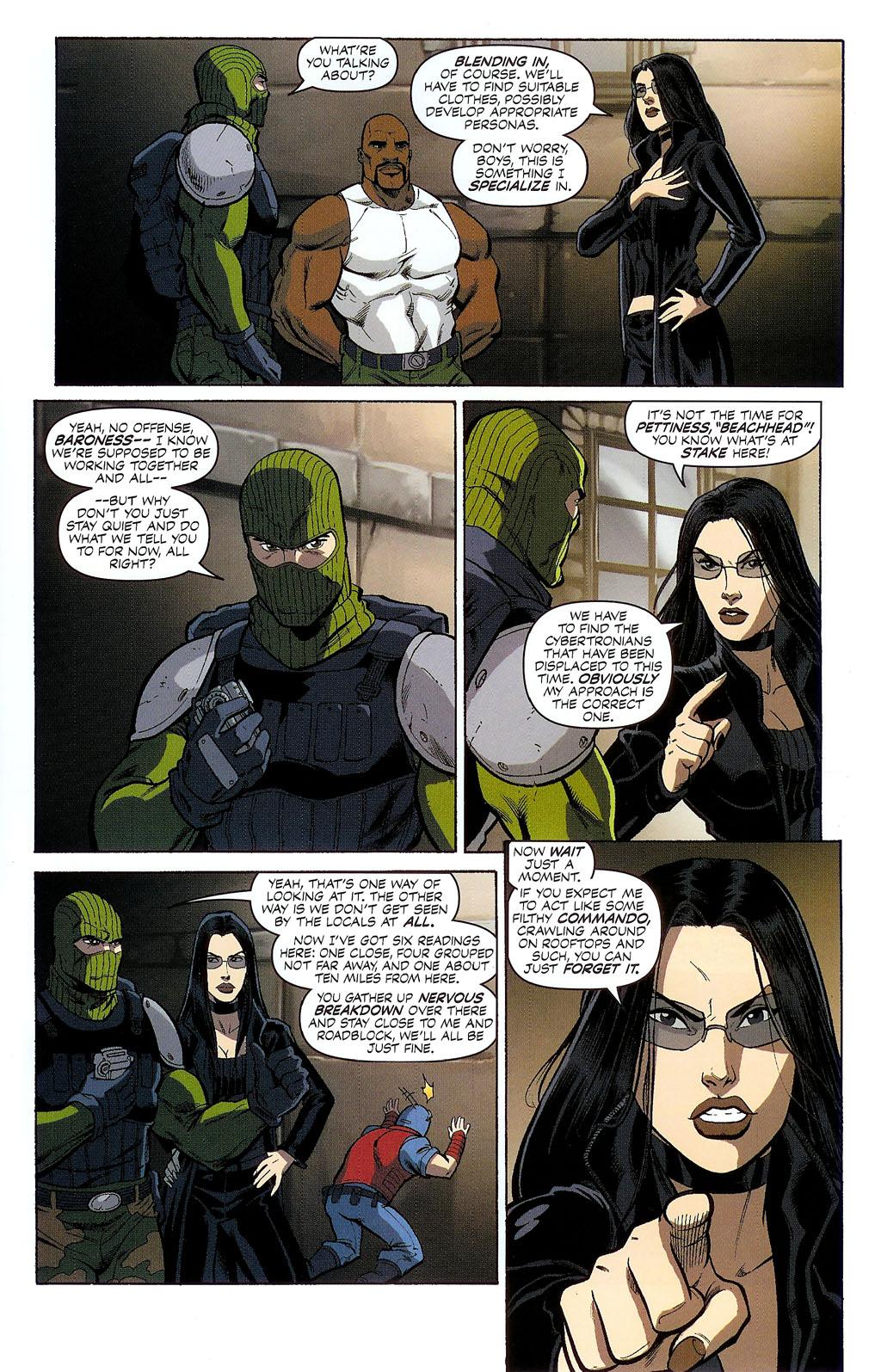 G.I. Joe vs. The Transformers II Issue #2 #3 - English 6