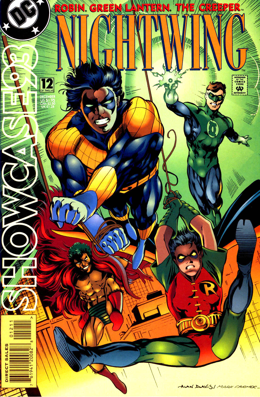 Read online Showcase '93 comic -  Issue #12 - 1