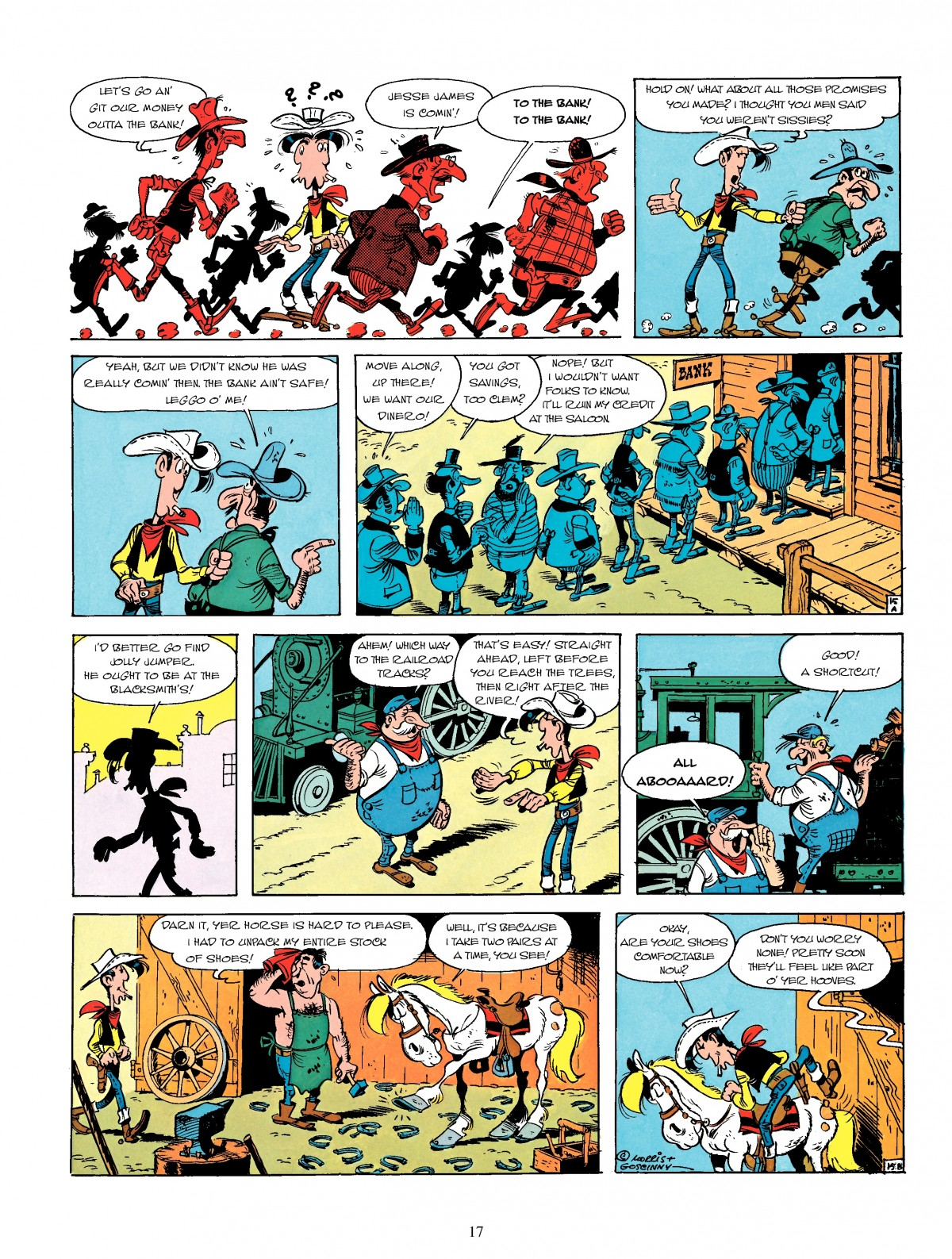 Read online A Lucky Luke Adventure comic -  Issue #4 - 19