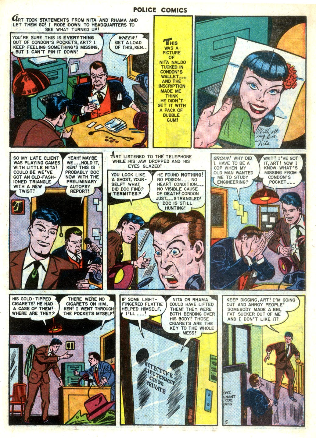 Police Comics issue 105 - Page 7