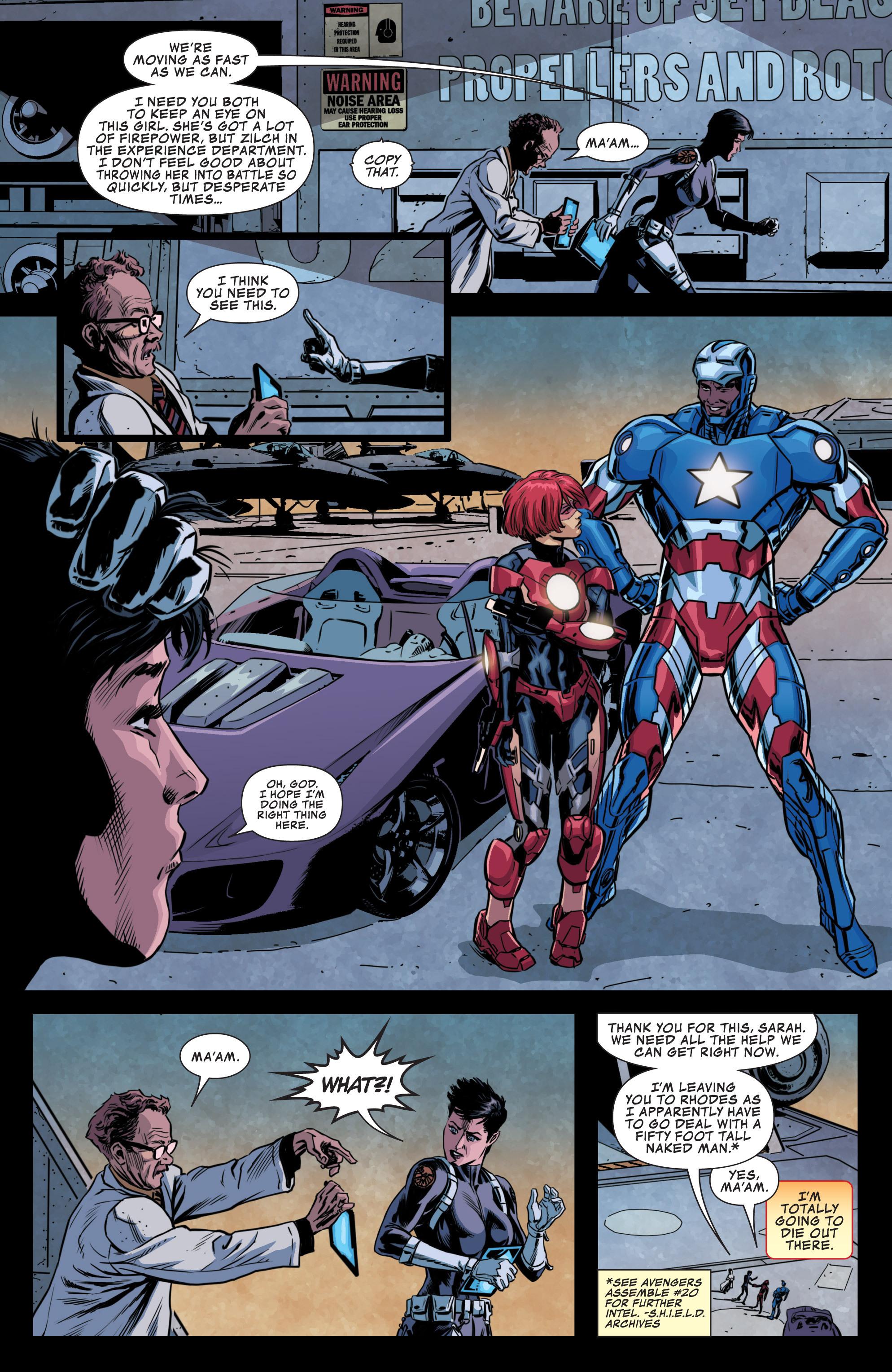 Read online Secret Avengers (2013) comic -  Issue #10 - 11