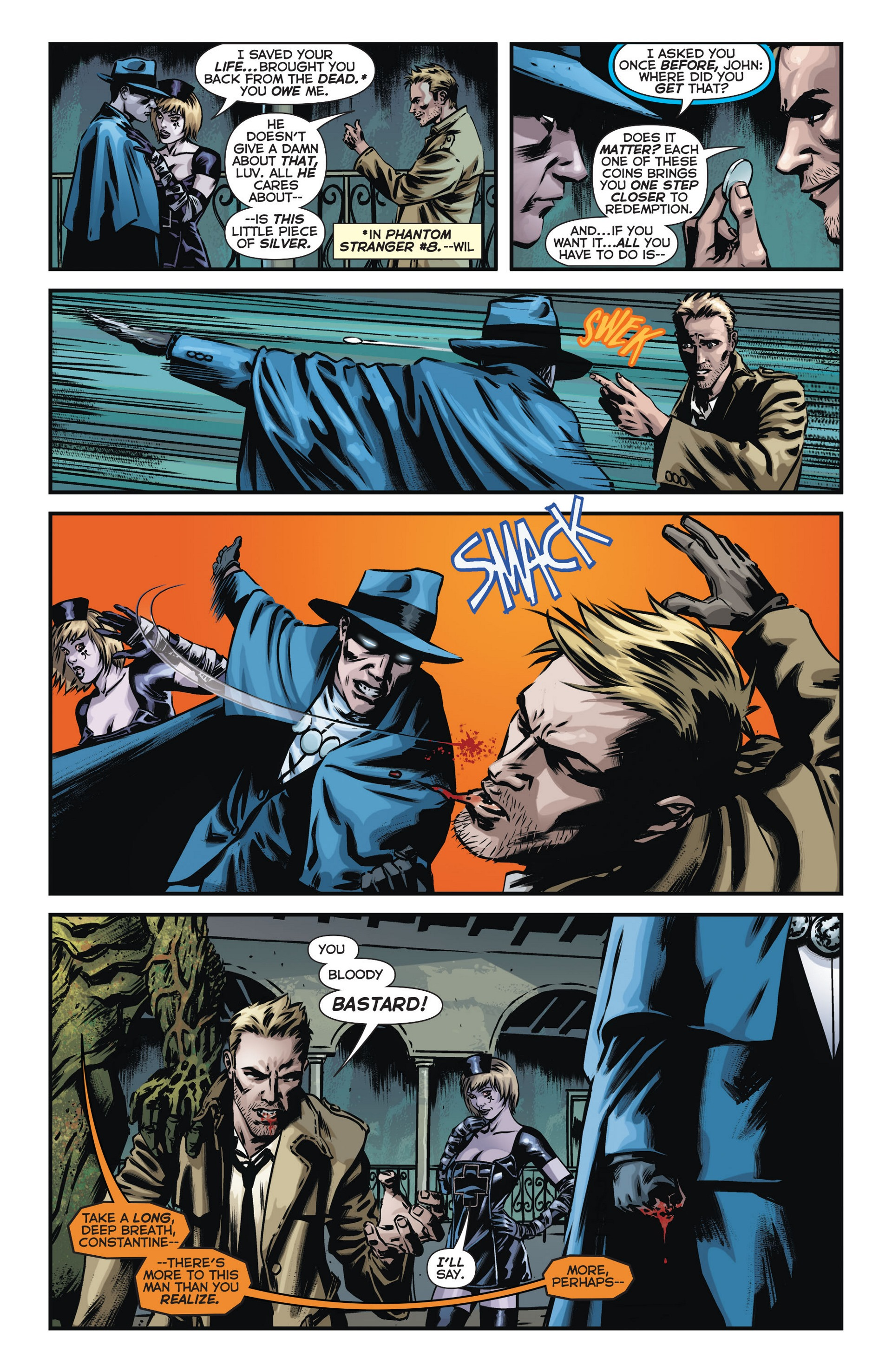 Read online Trinity of Sin: The Phantom Stranger comic -  Issue #14 - 10
