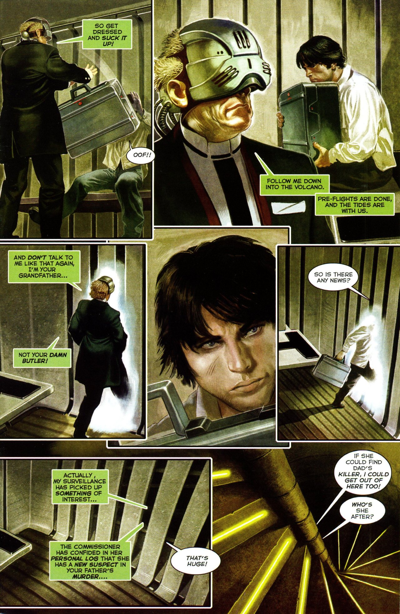 Read online Shark-Man comic -  Issue #3 - 21