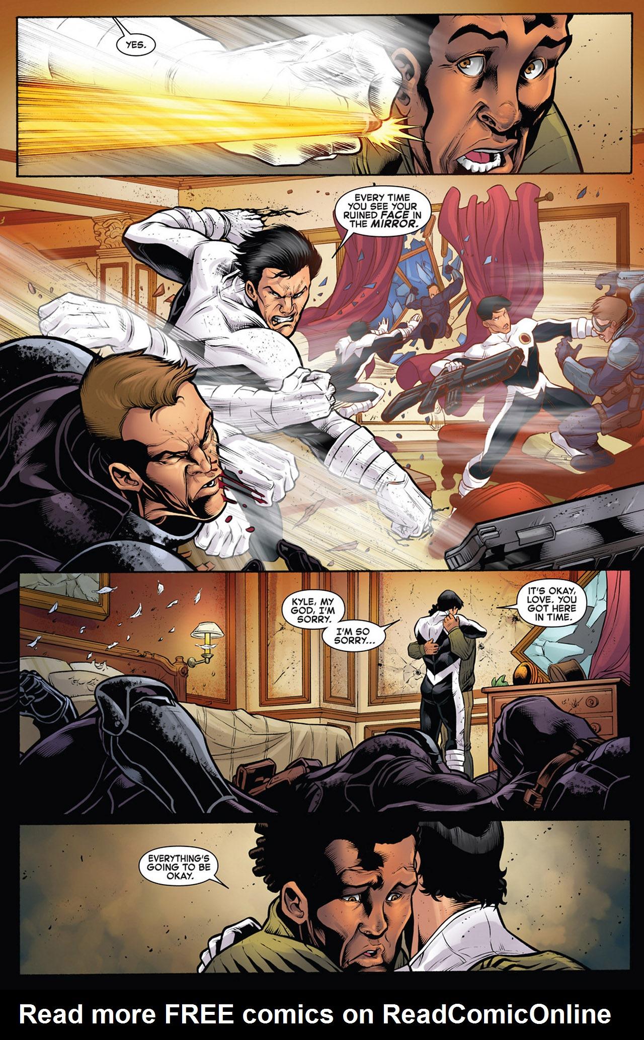 Read online Astonishing X-Men (2004) comic -  Issue # _Annual 1 - 12