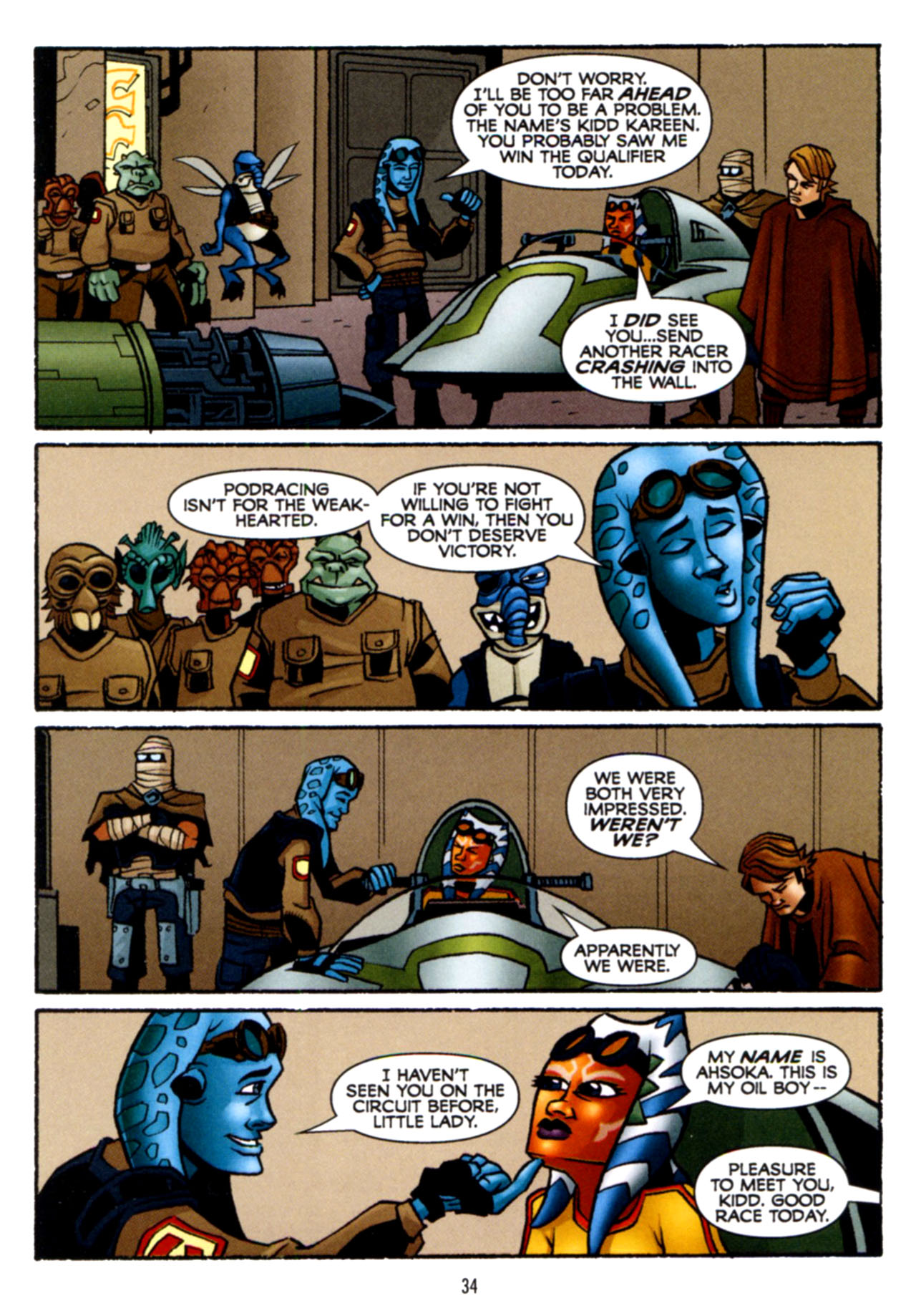 Read online Star Wars: The Clone Wars - Crash Course comic -  Issue # Full - 35