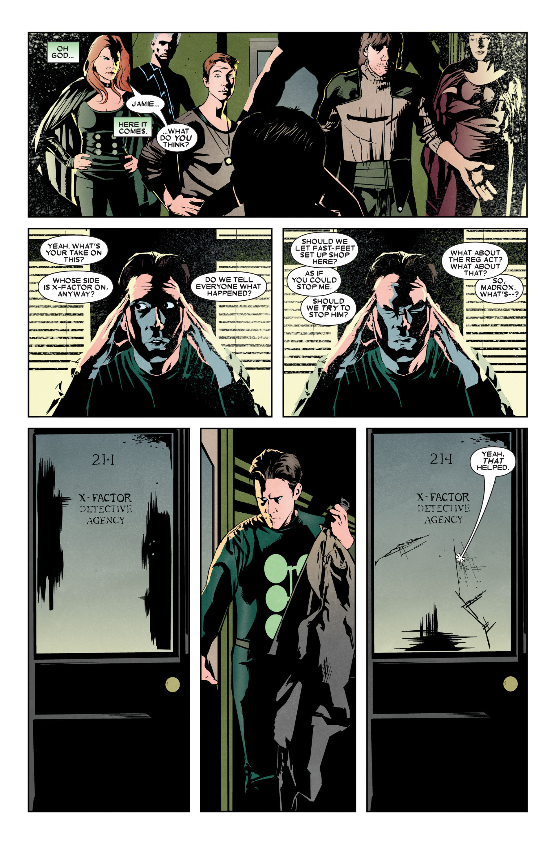 Read online X-Factor (2006) comic -  Issue #9 - 6