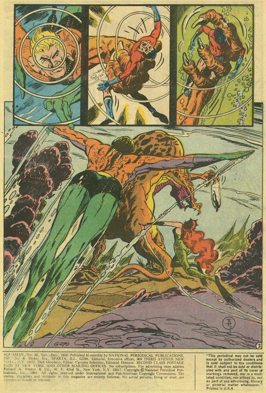 Read online Aquaman (1962) comic -  Issue #48 - 3