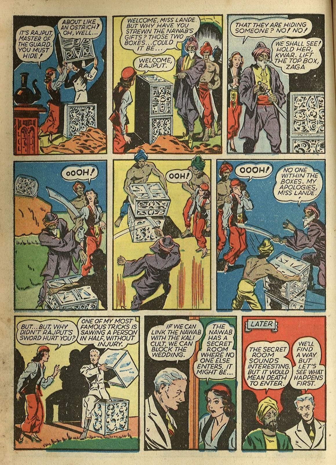 Read online Super-Magician Comics comic -  Issue #1 - 16