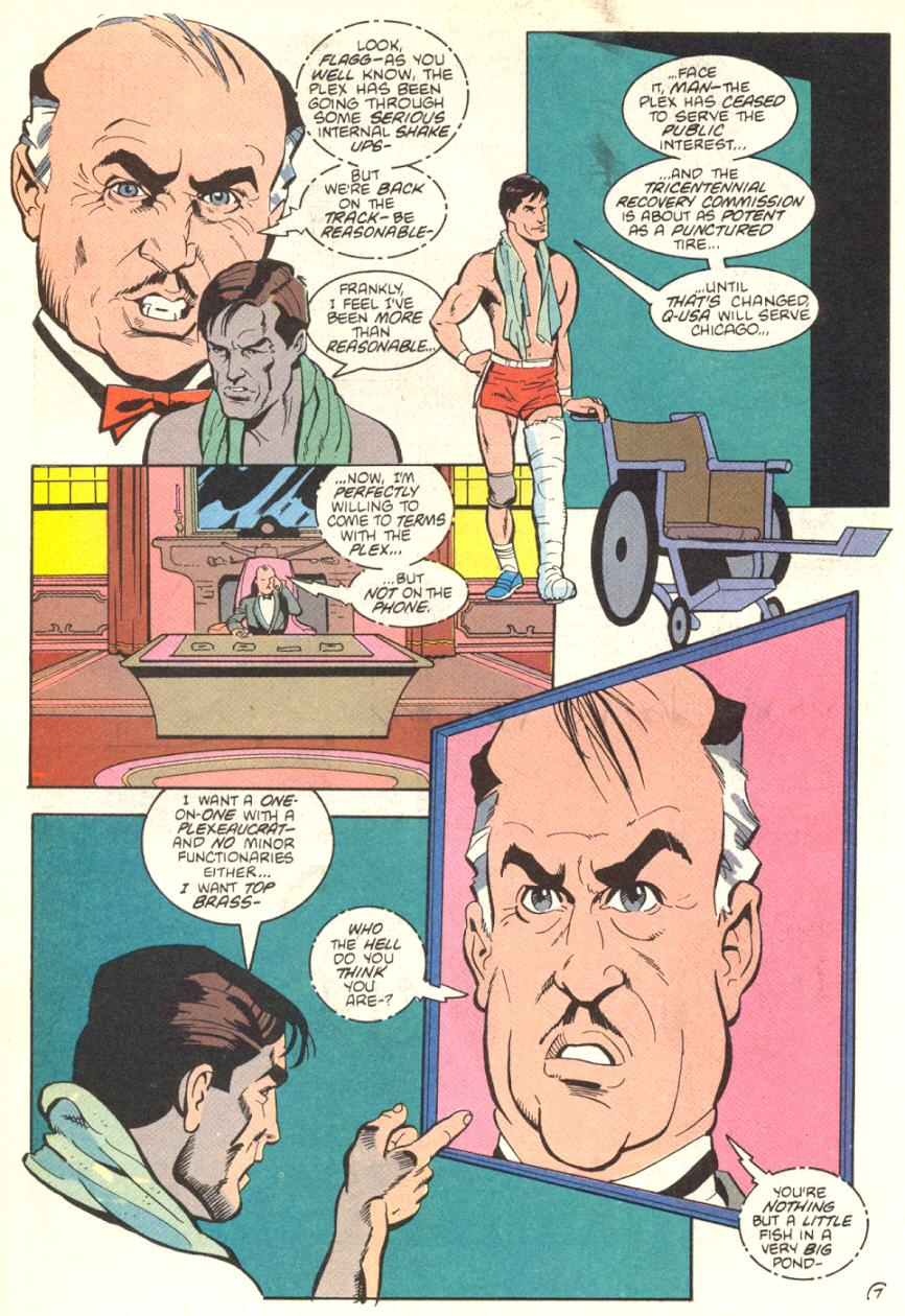 Read online American Flagg! comic -  Issue #13 - 8