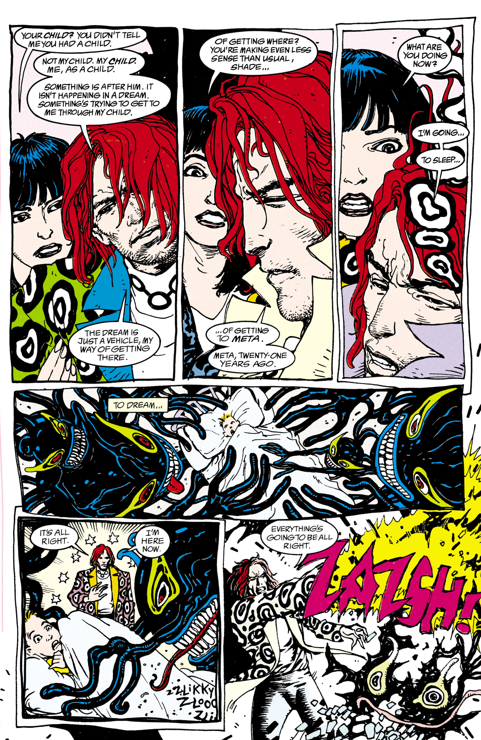 Read online Shade, the Changing Man comic -  Issue #22 - 6