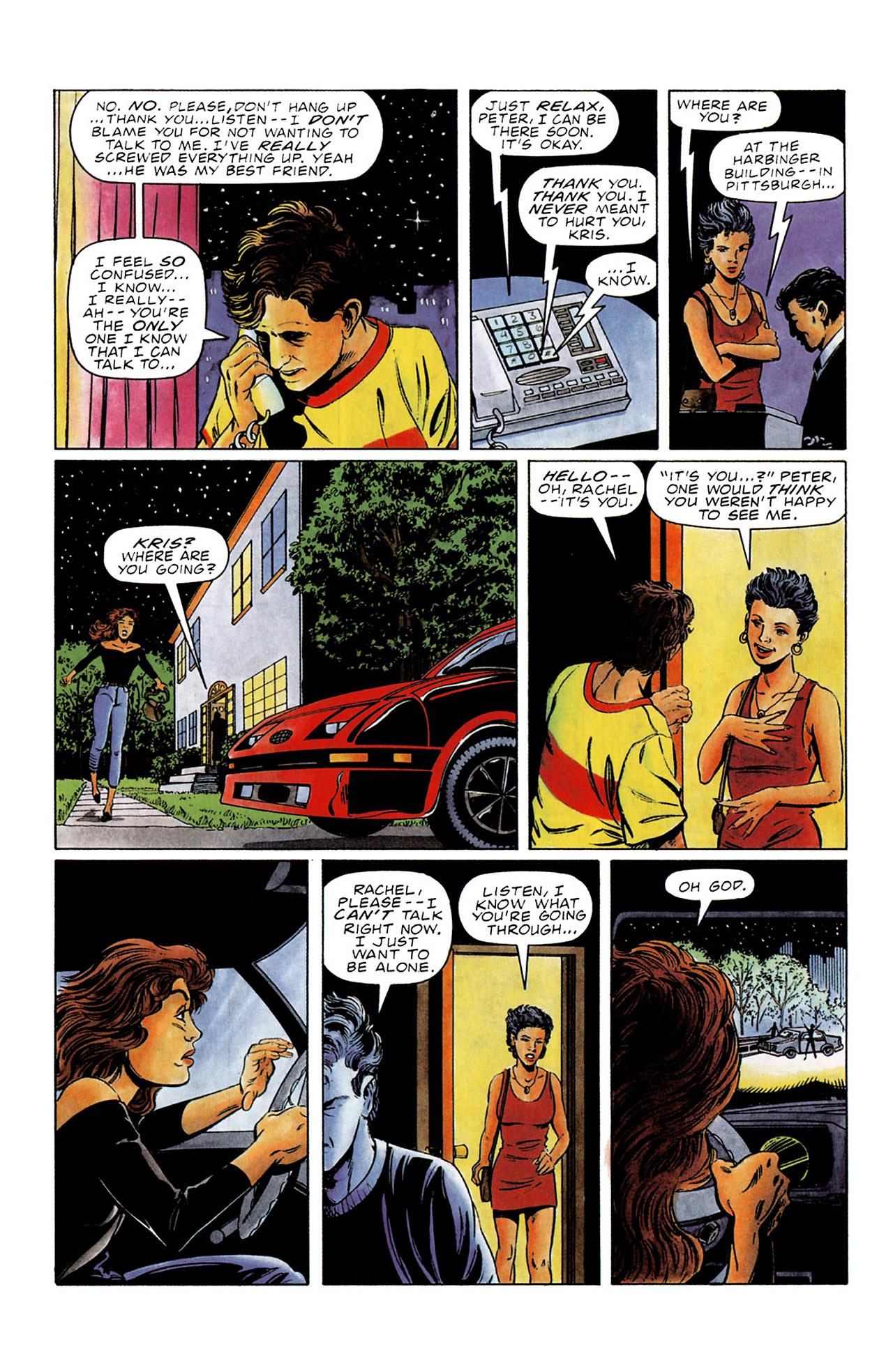 Read online Harbinger (1992) comic -  Issue #0 - 13