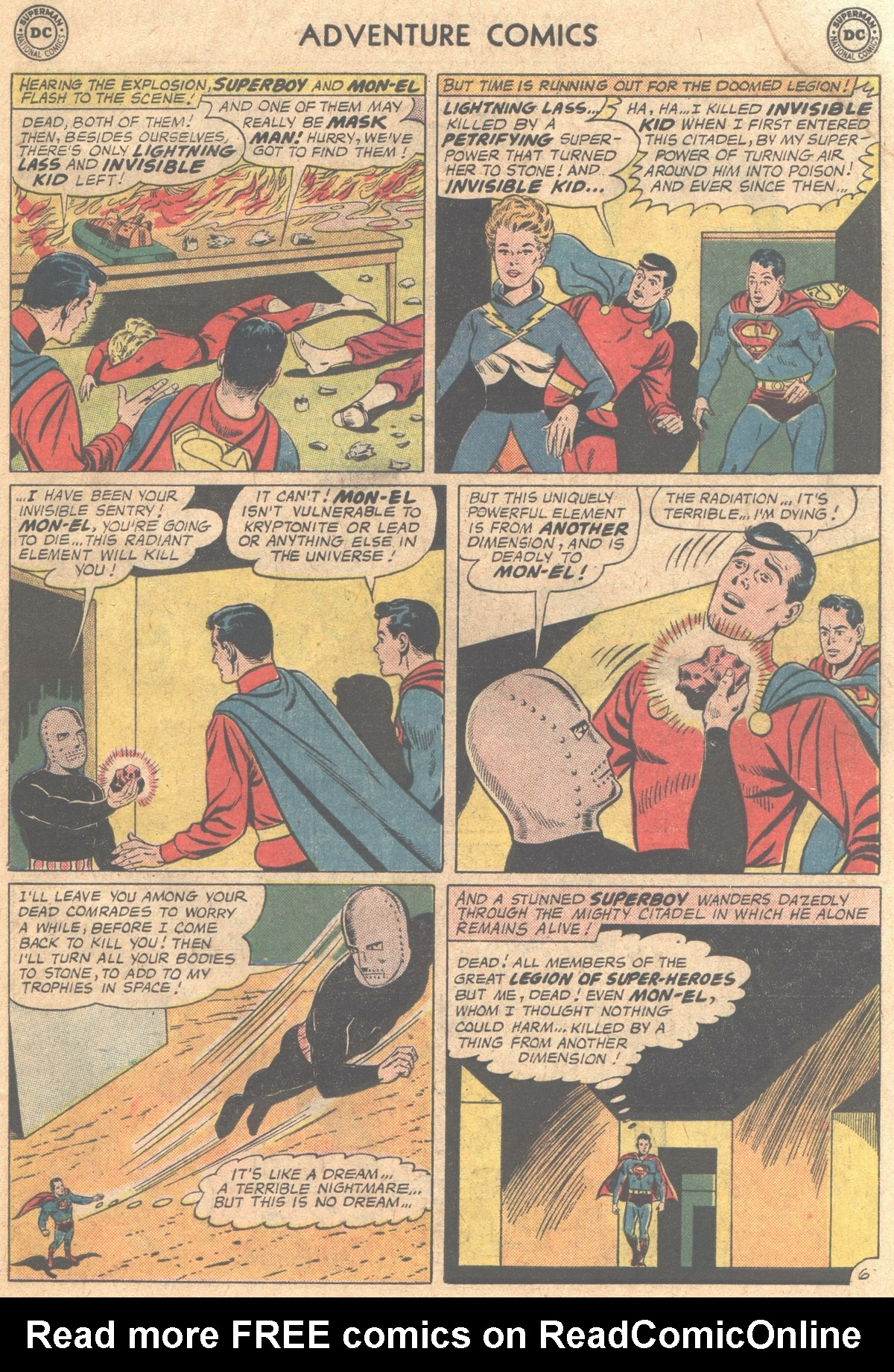 Read online Adventure Comics (1938) comic -  Issue #310 - 19