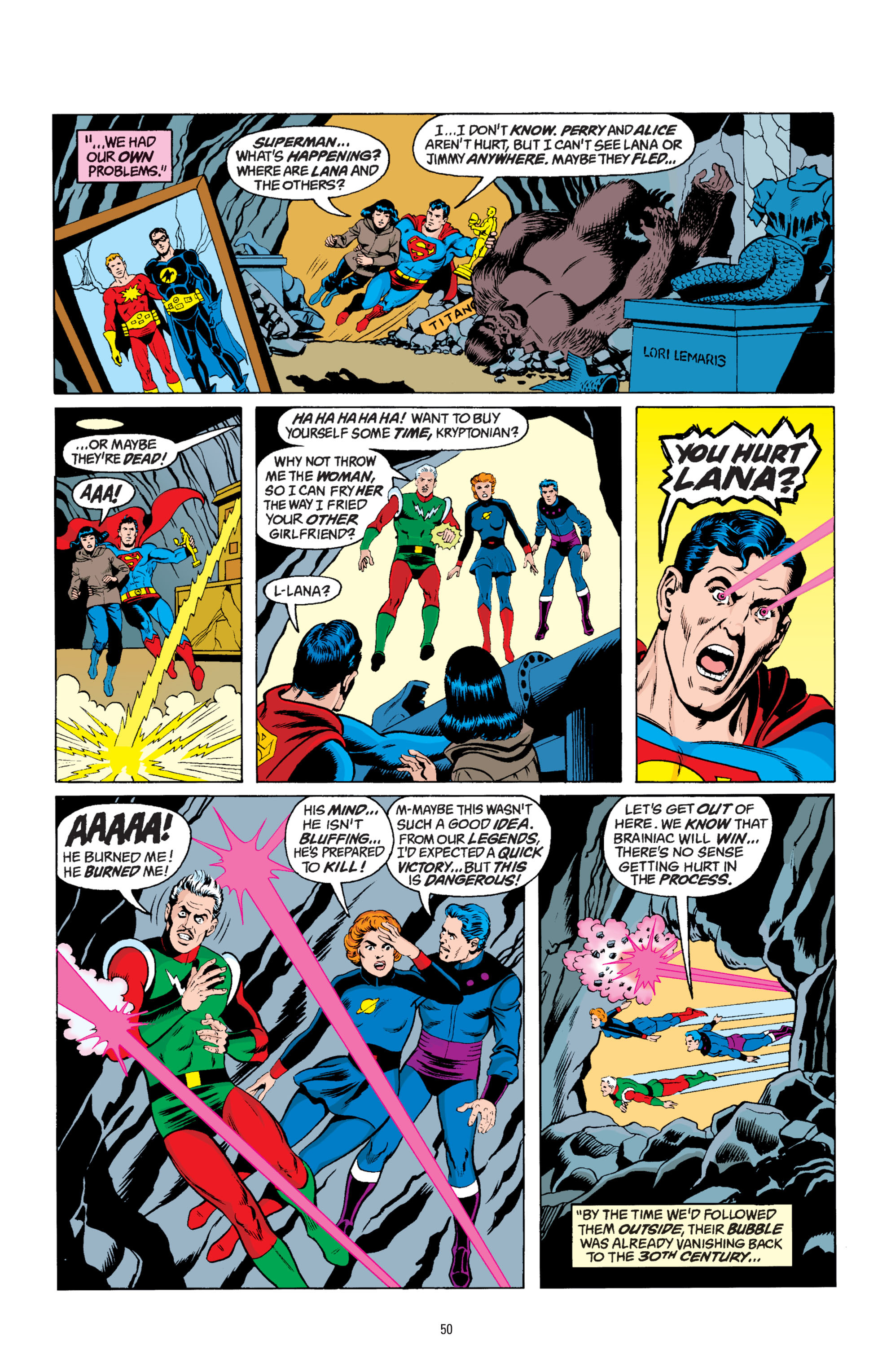 Read online Superman: Whatever Happened to the Man of Tomorrow? comic -  Issue # TPB - 49