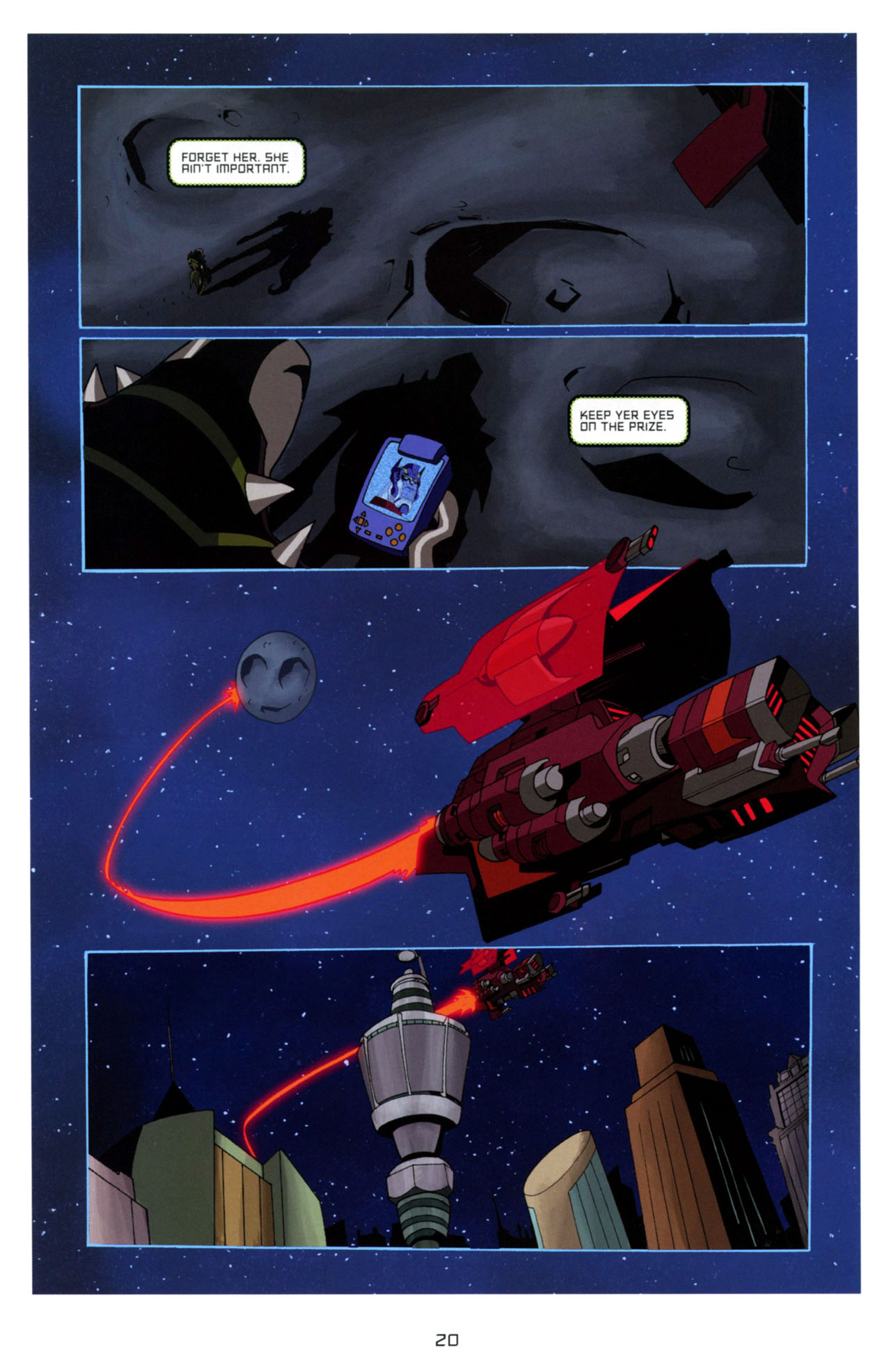 Read online Transformers Animated: The Arrival comic -  Issue #4 - 23