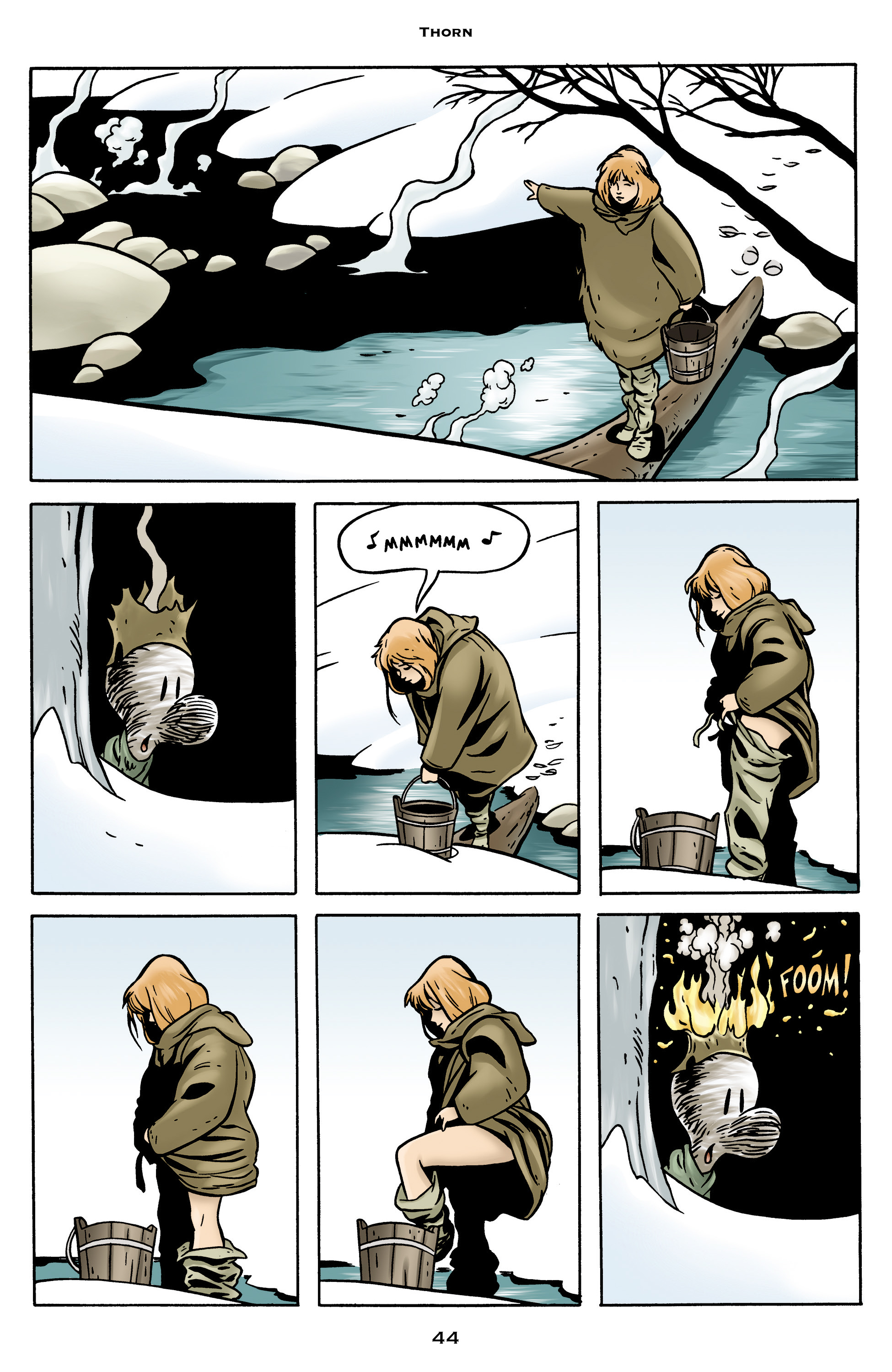 Read online Bone: Out From Boneville comic -  Issue # TPB - 44