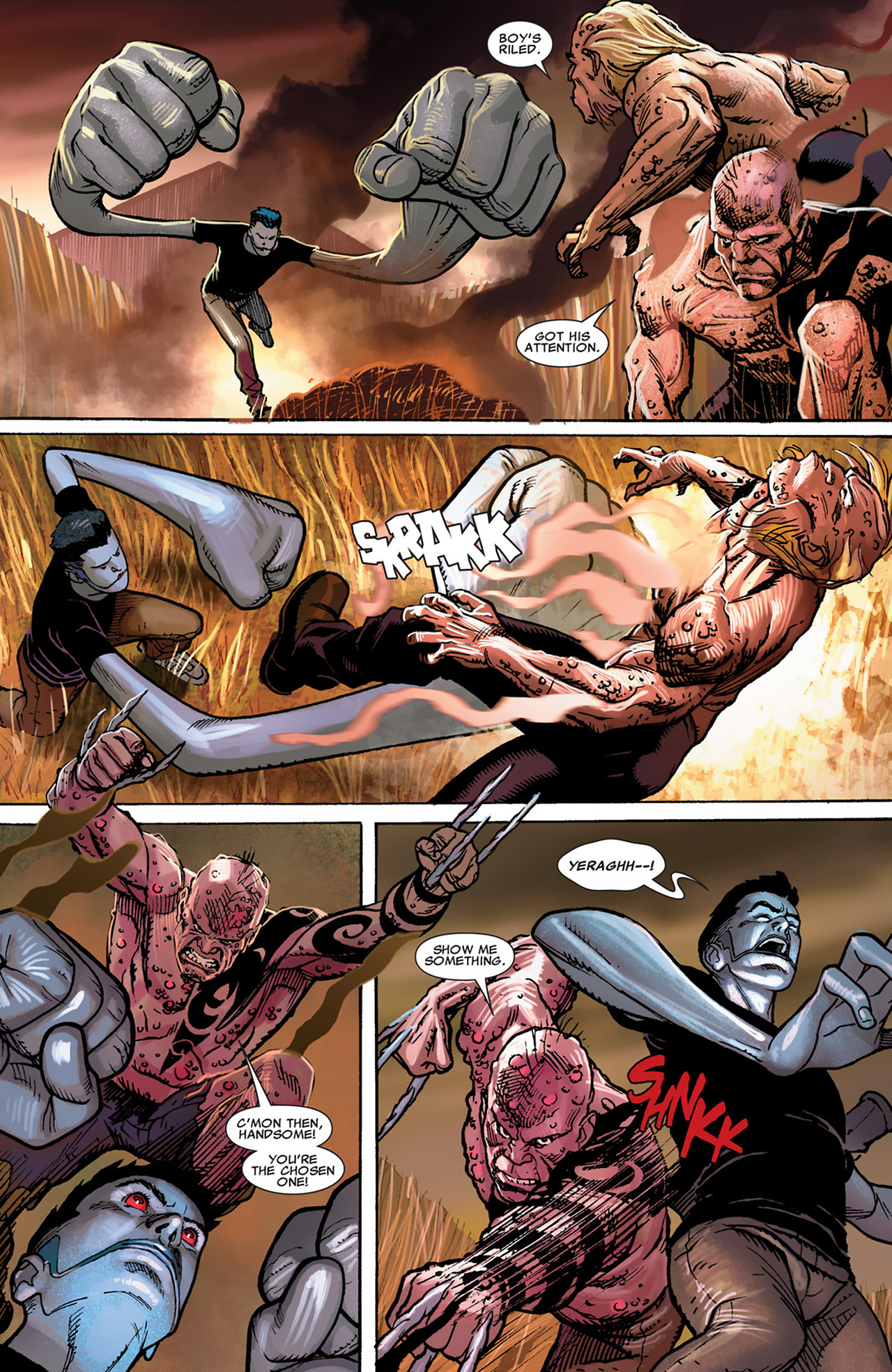 Uncanny X-Force (2010) #30 #32 - English 17